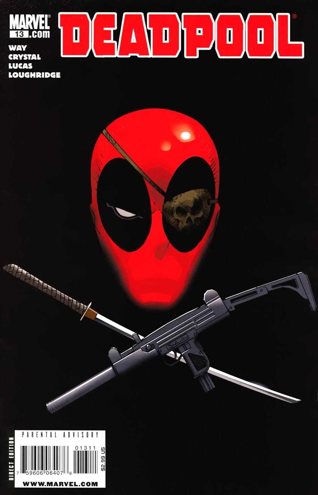 Read online Deadpool (2008) comic -  Issue #13 - 1