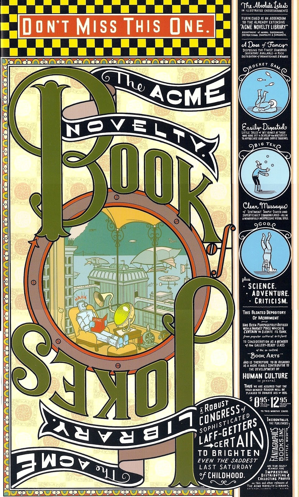 The Acme Novelty Library 7 Page 1