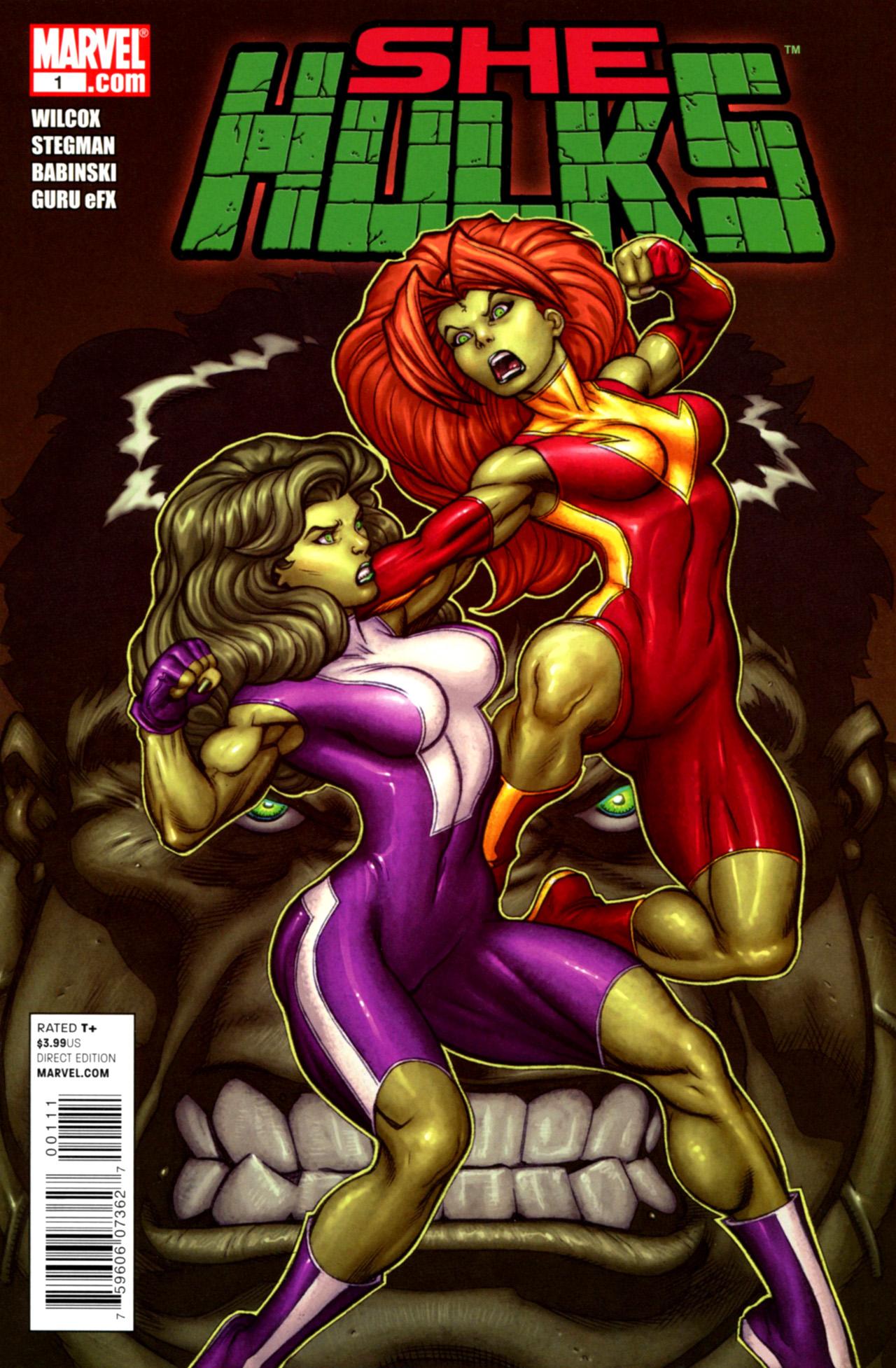 Read online She-Hulks comic -  Issue #1 - 1