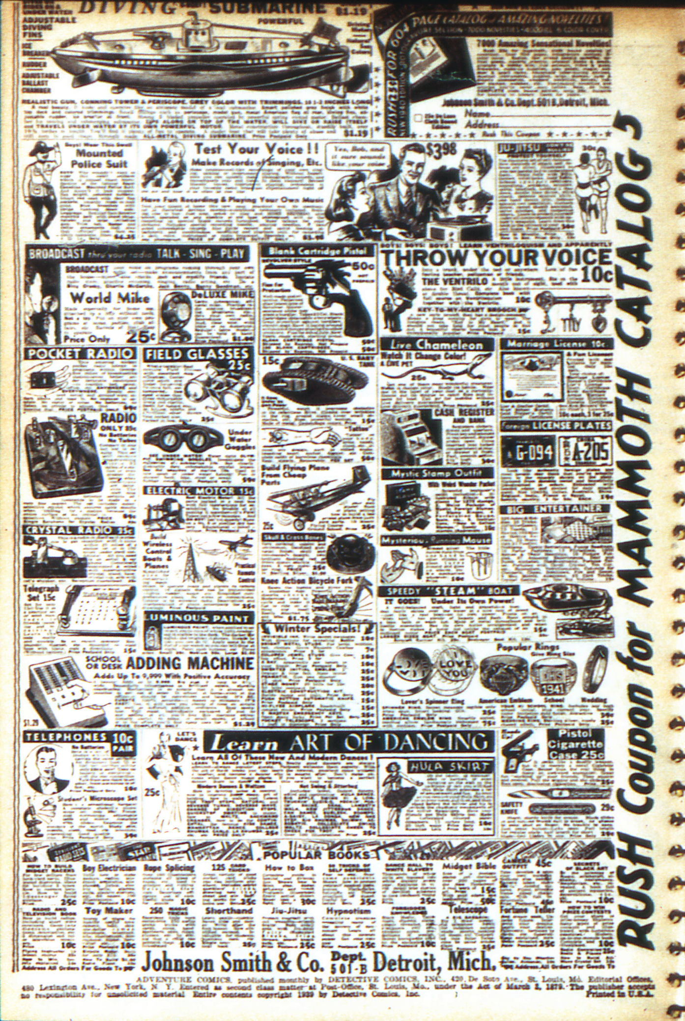 Read online Adventure Comics (1938) comic -  Issue #47 - 3