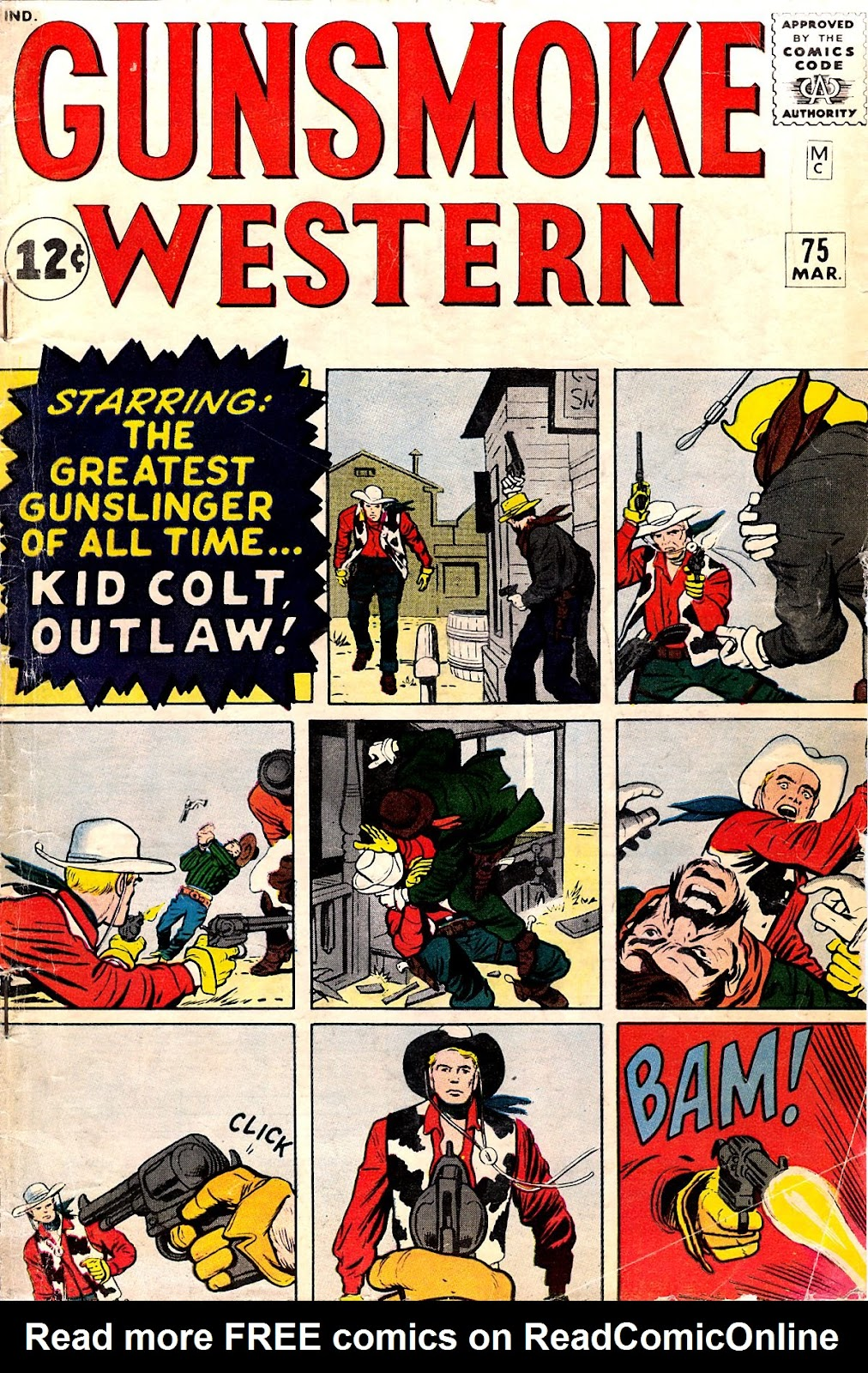 Gunsmoke Western issue 75 - Page 1