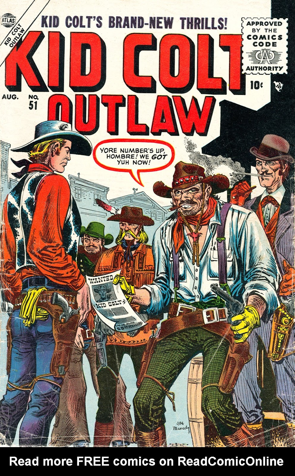 Kid Colt Outlaw issue 51 - Page 1