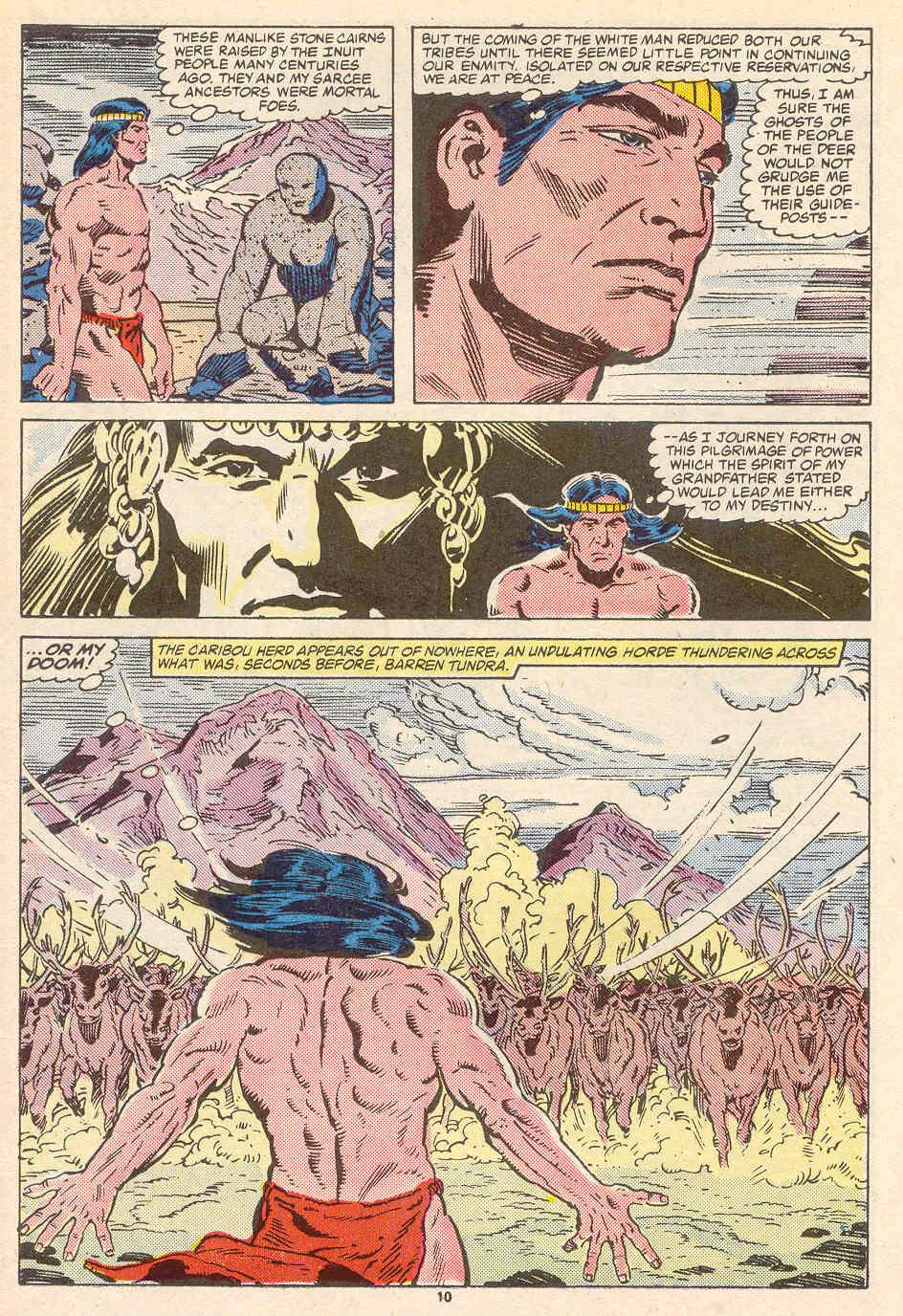 Read online Alpha Flight (1983) comic -  Issue #35 - 11