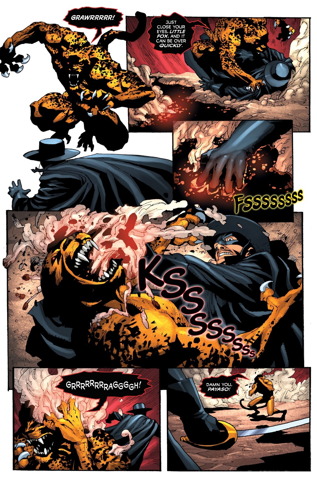 Read online Zorro: Swords of Hell comic -  Issue #4 - 14