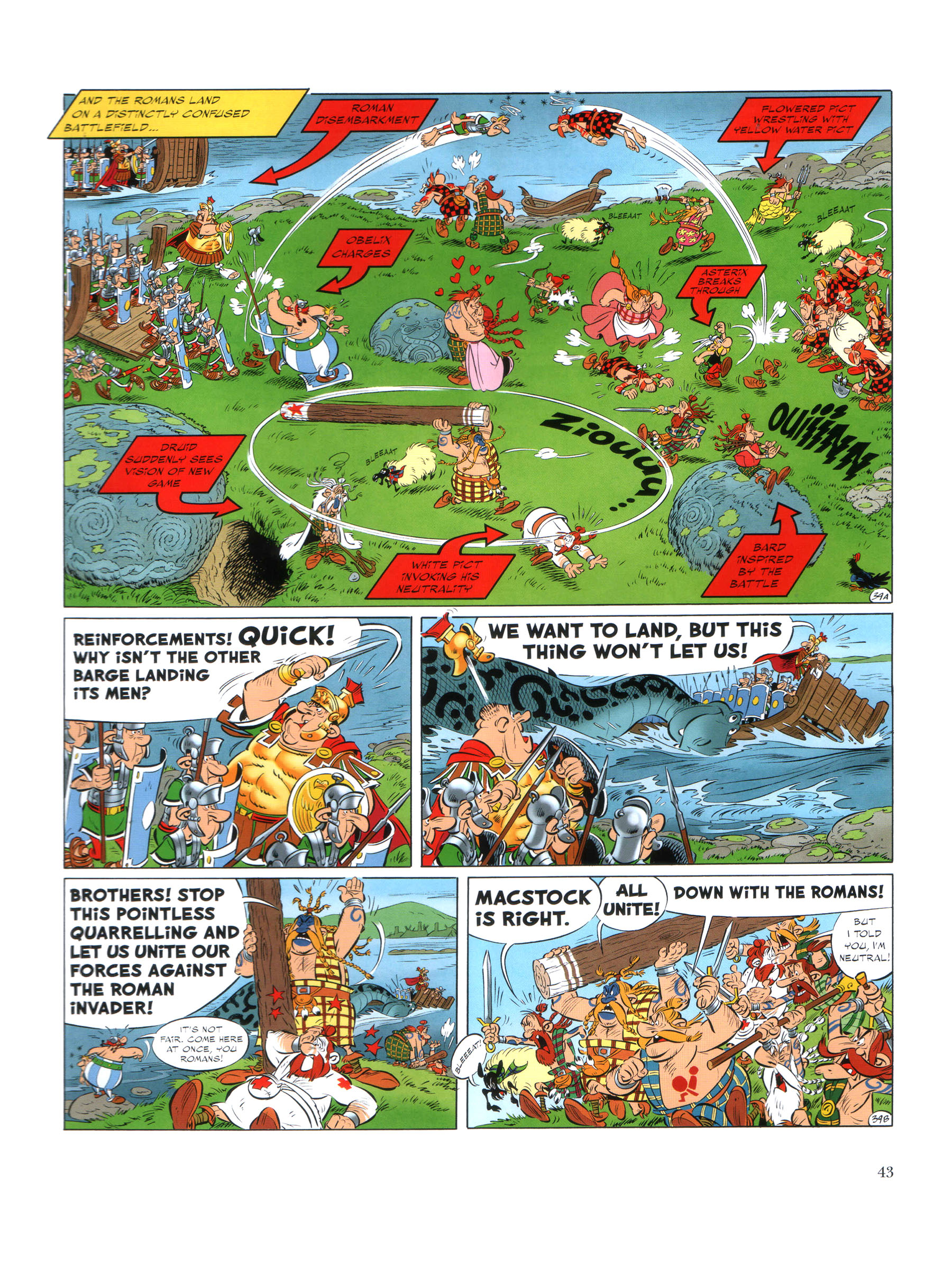 Read online Asterix comic -  Issue #35 - 44