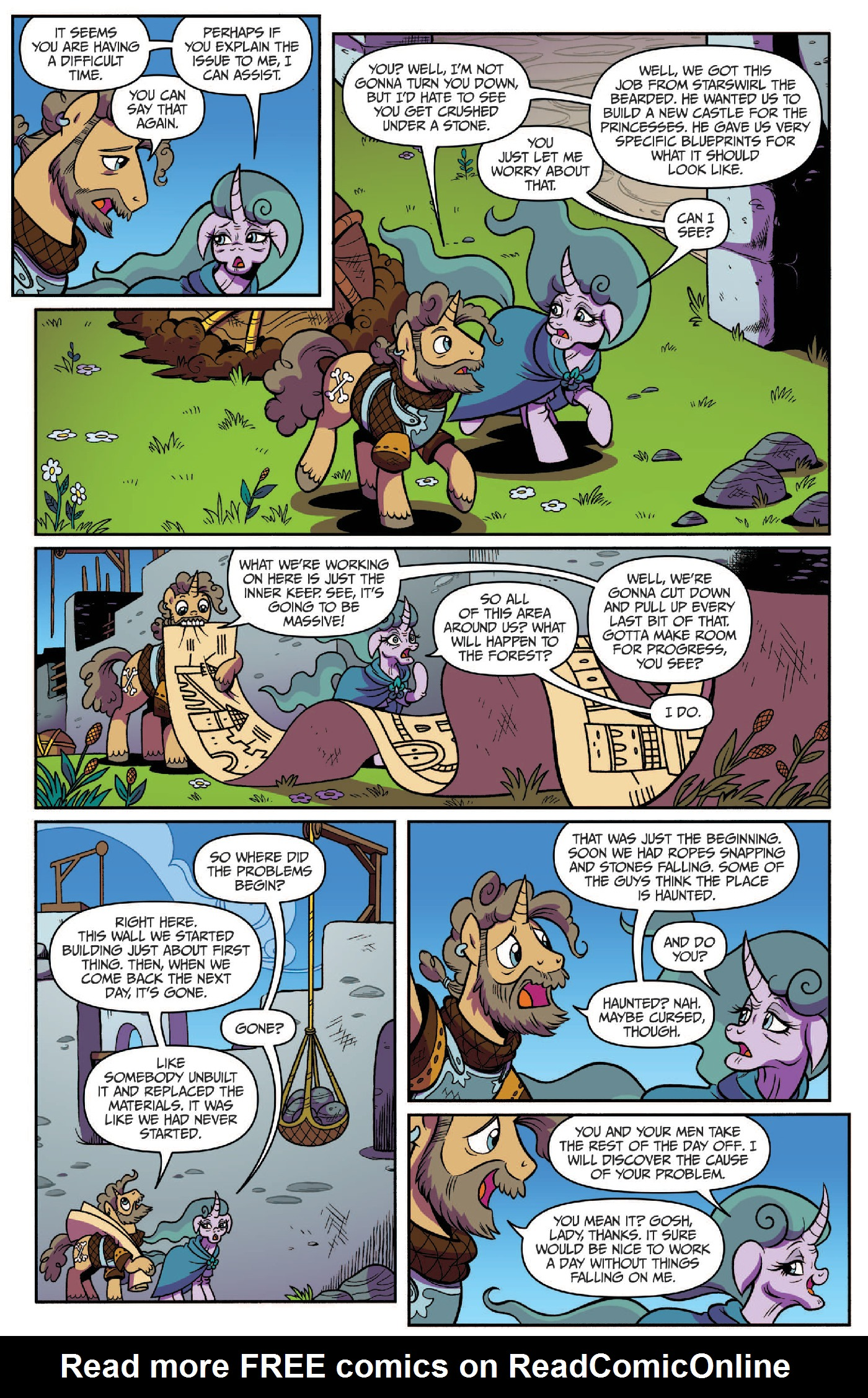 Read online My Little Pony: Legends of Magic comic -  Issue #3 - 8