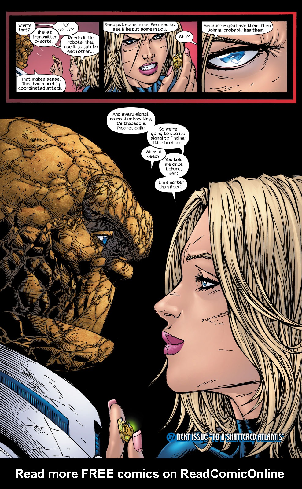 Read online Ultimate Fantastic Four (2004) comic -  Issue #59 - 23