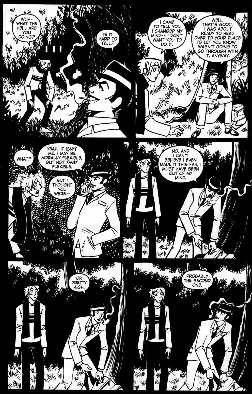 Read online Scooter Girl comic -  Issue #5 - 5