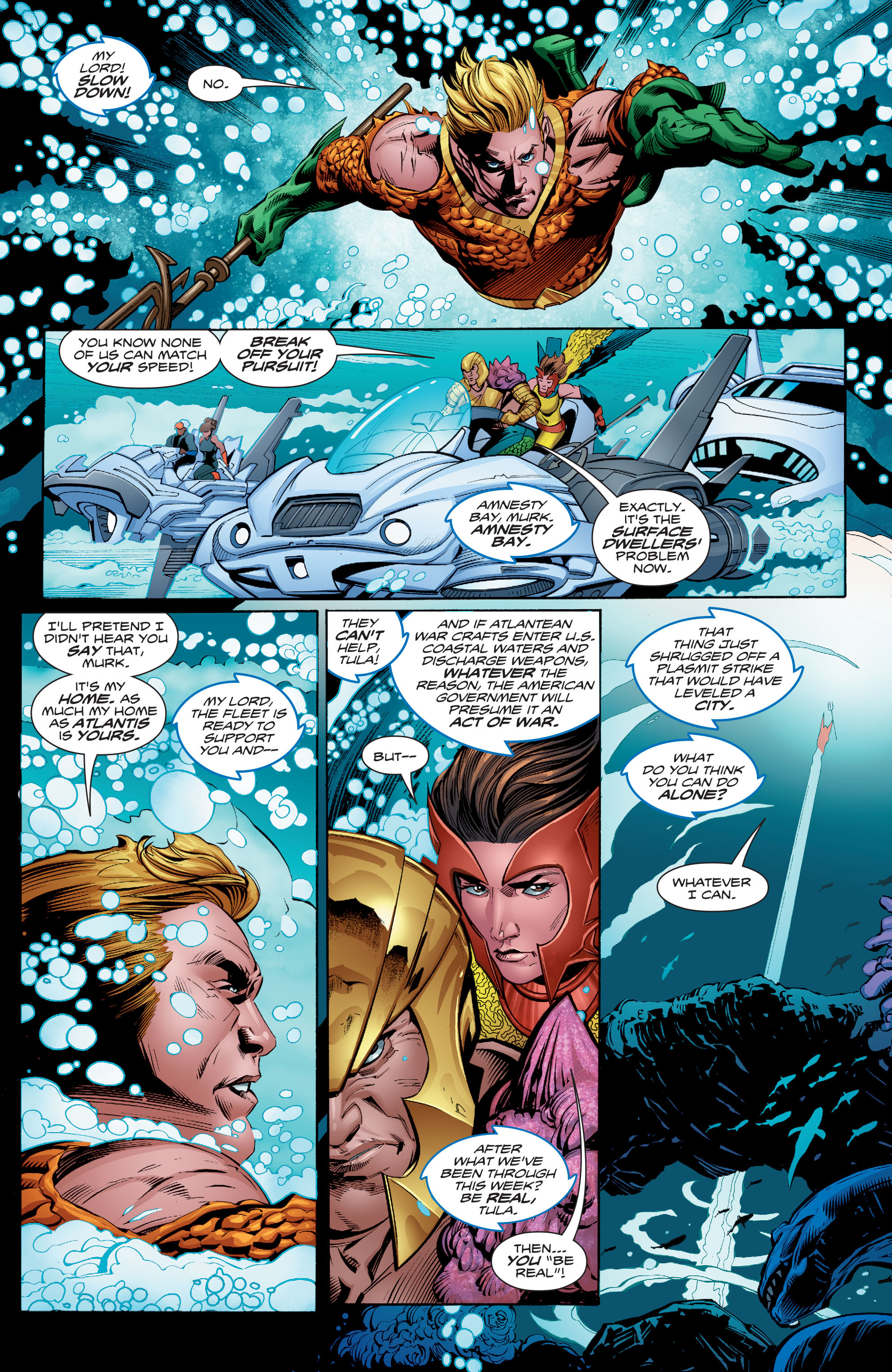 Read online Aquaman (2016) comic -  Issue #9 - 8