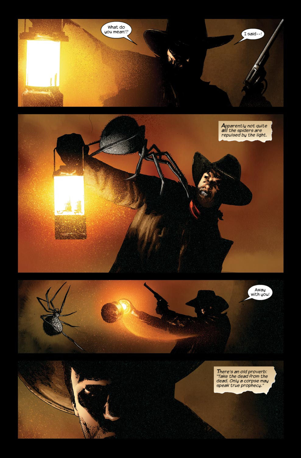 Read online Dark Tower: The Gunslinger - The Way Station comic -  Issue #3 - 17
