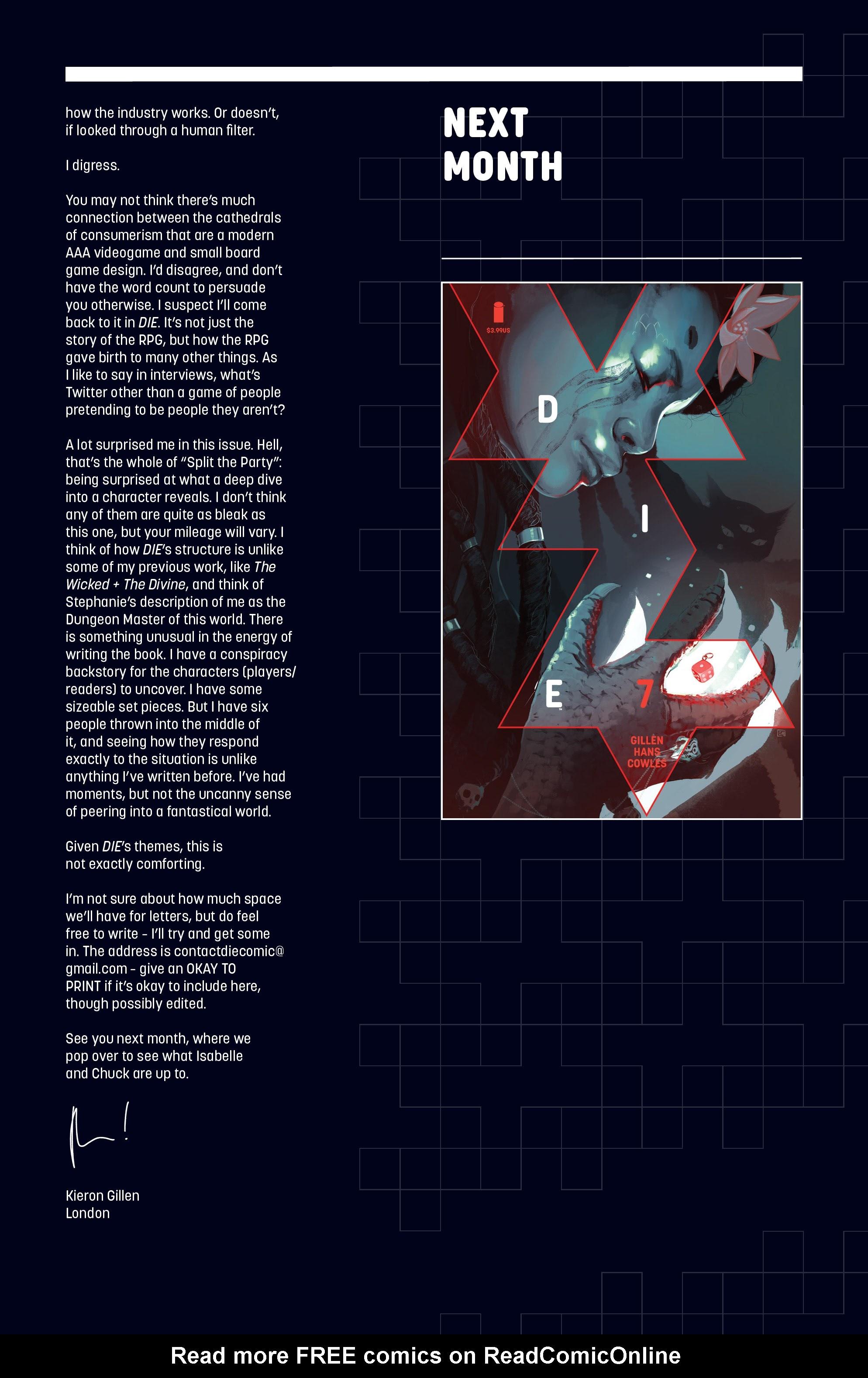 Die #6 #6 - English 29