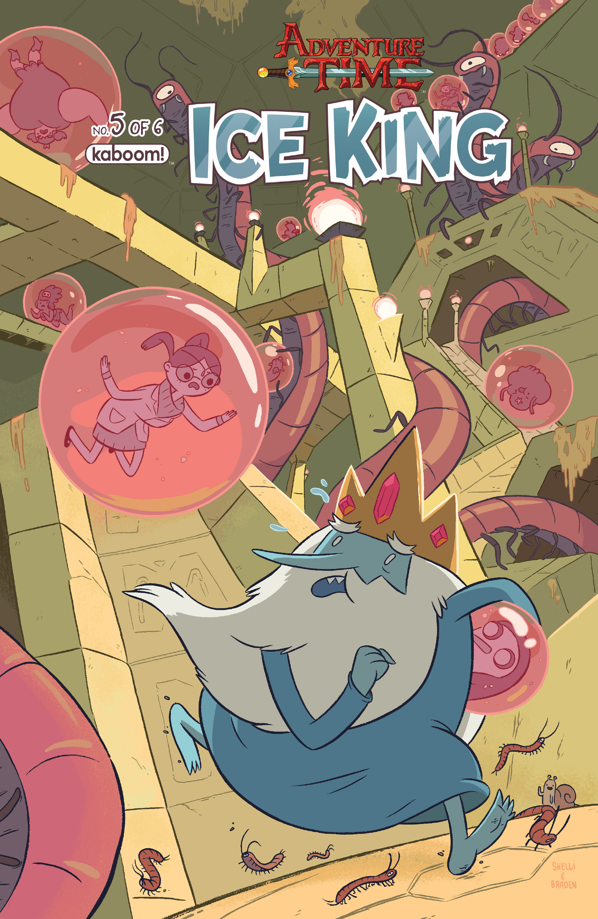 Read online Adventure Time: Ice King comic -  Issue #5 - 1