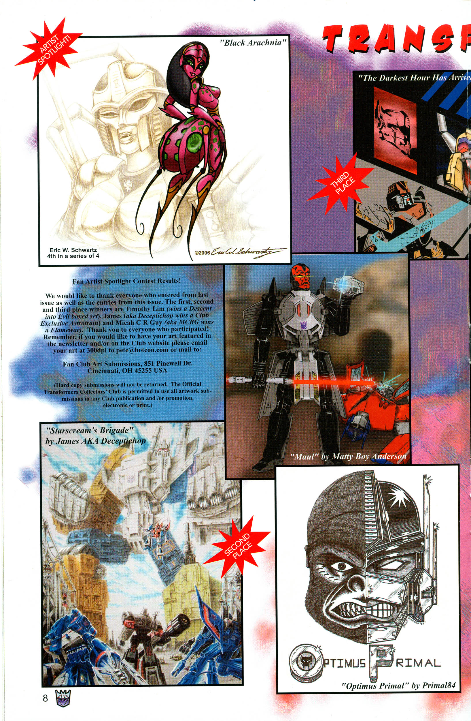 Read online Transformers: Collectors' Club comic -  Issue #12 - 8