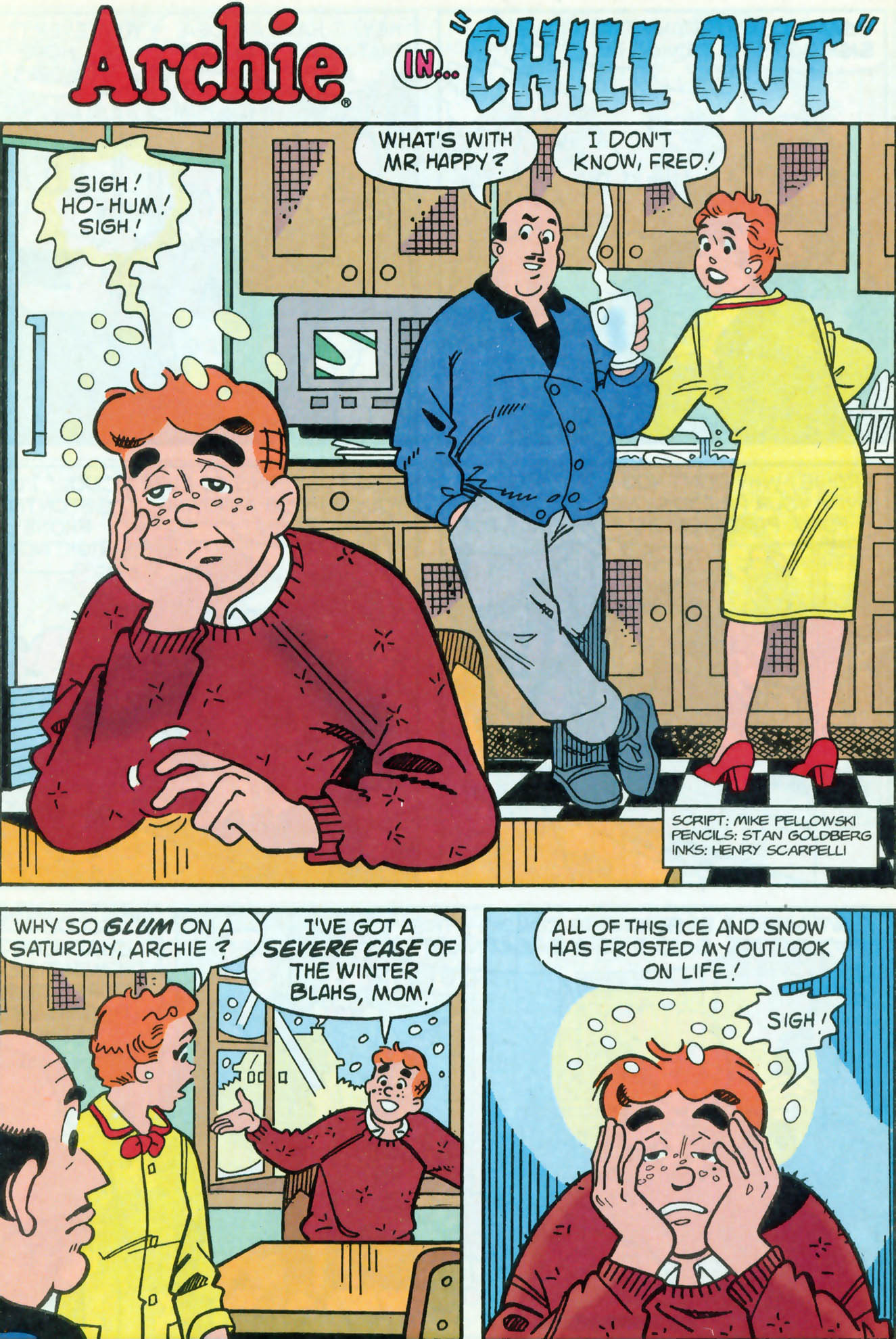 Read online Archie (1960) comic -  Issue #469 - 8