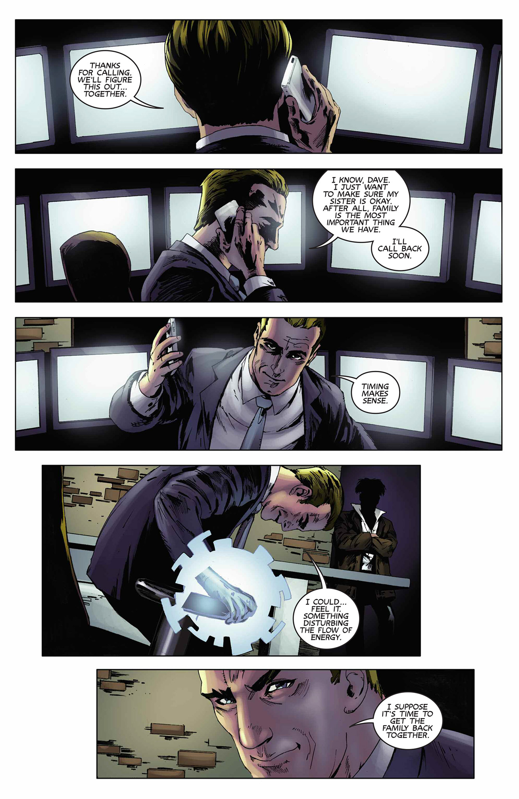 Read online Solar: Man of the Atom (2014) comic -  Issue #9 - 22