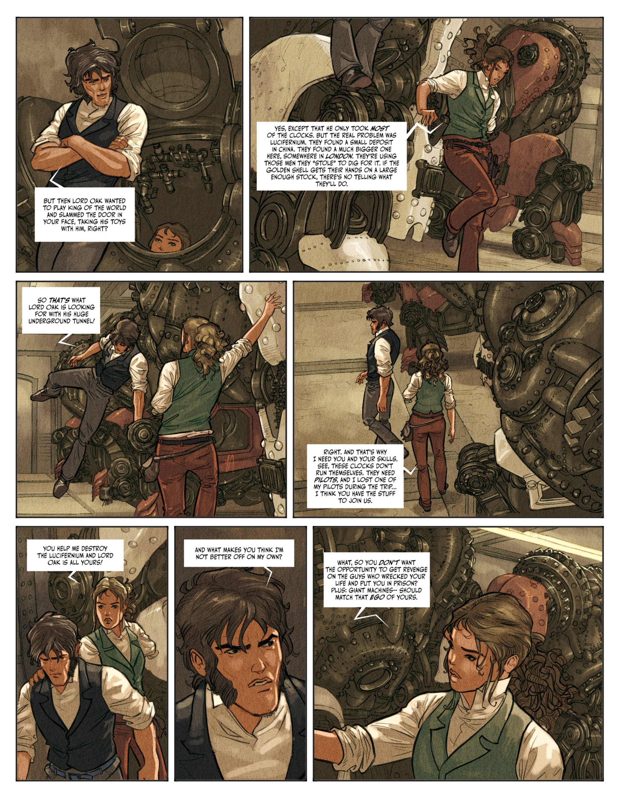 Read online Clockwerx comic -  Issue #2 - 13