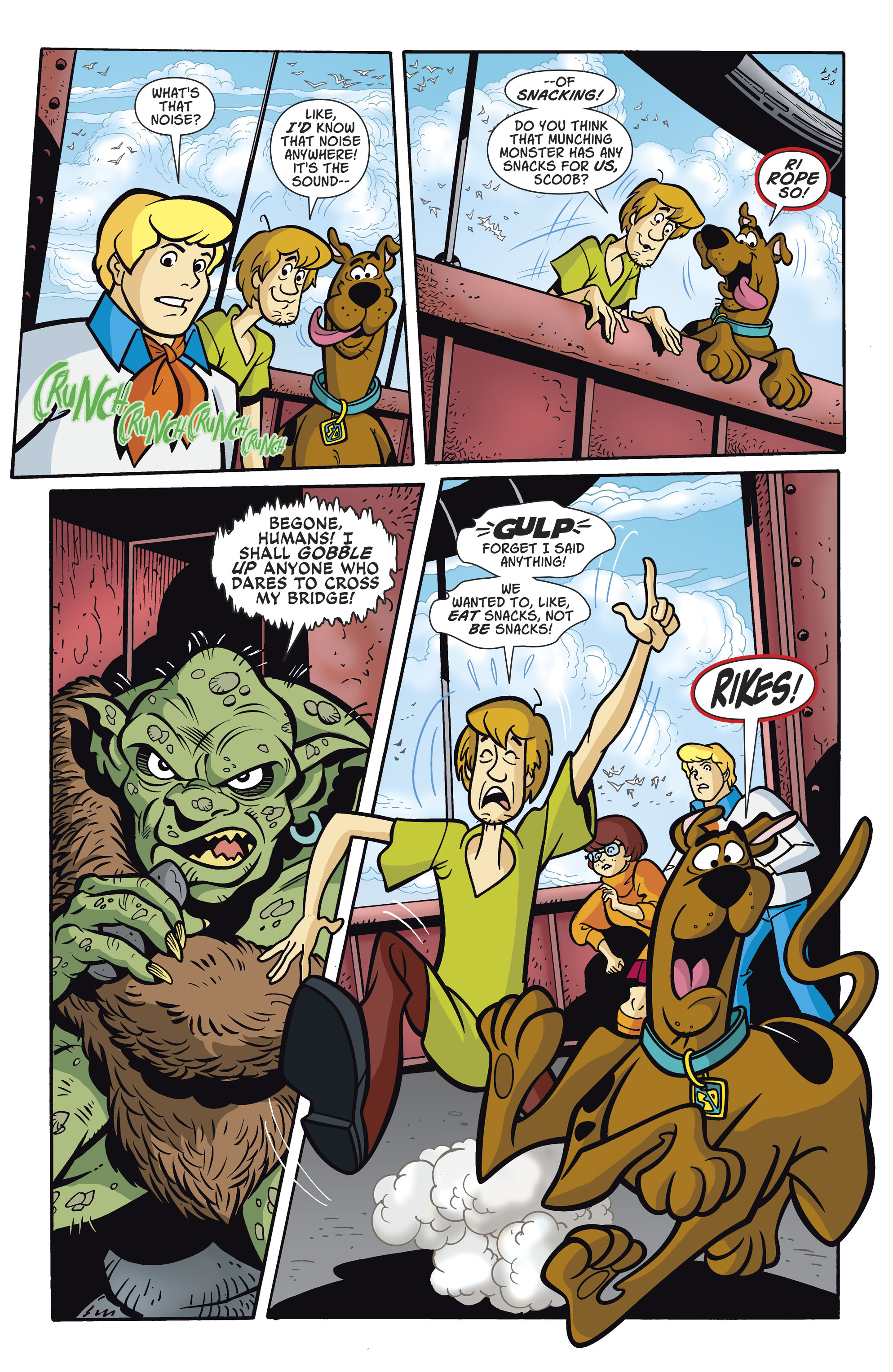 Read online Scooby-Doo: Where Are You? comic -  Issue #81 - 4
