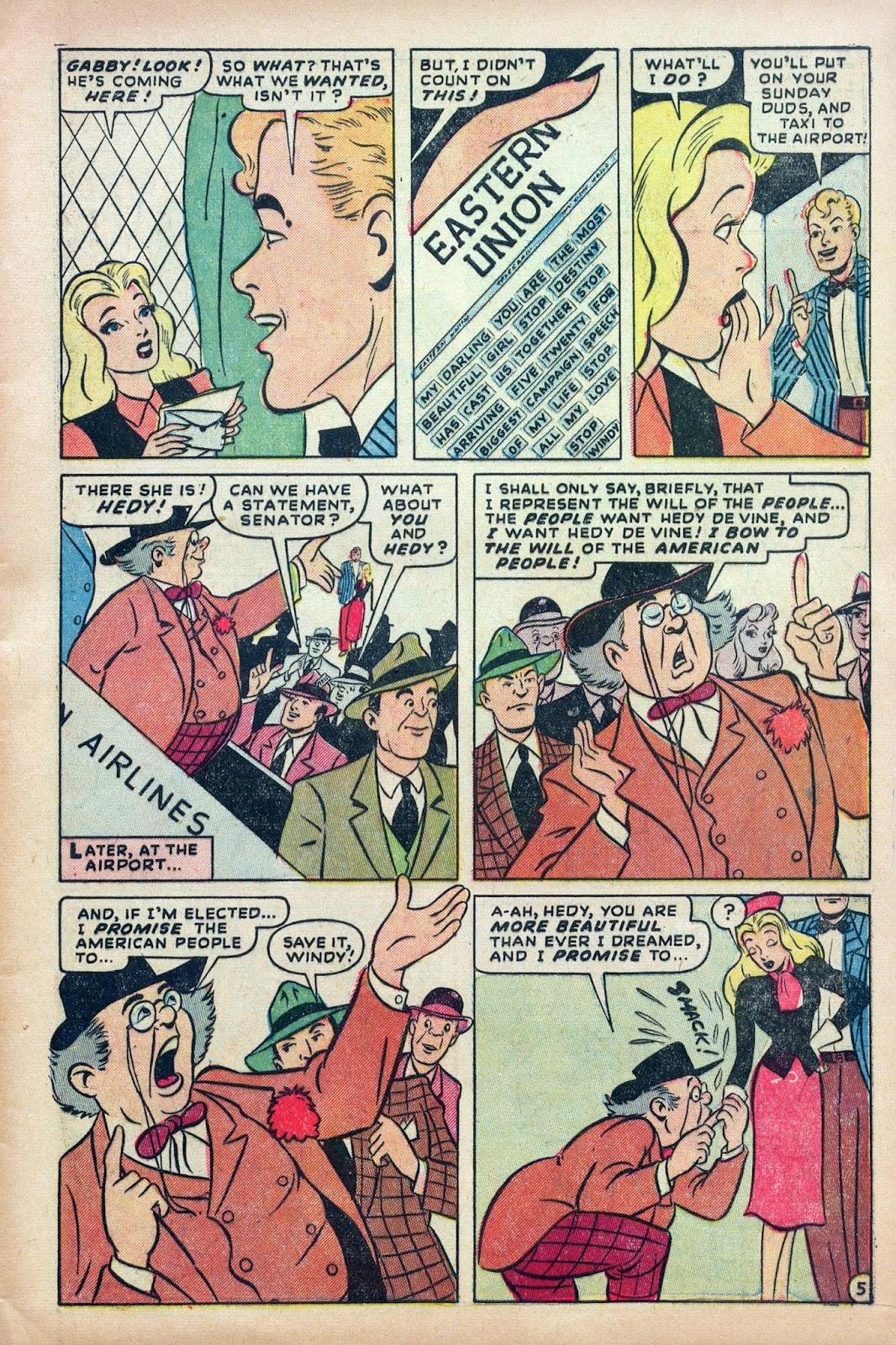 Hedy De Vine Comics issue 31 - Page 7