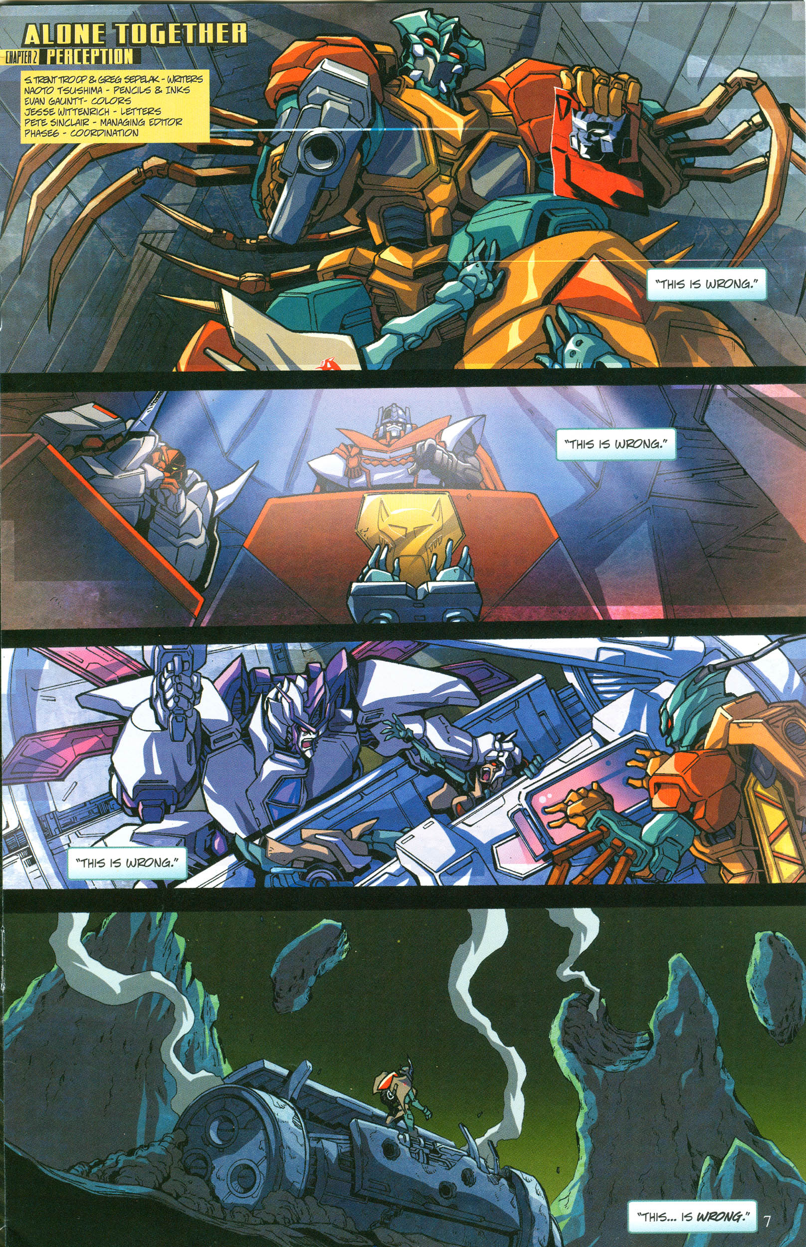 Read online Transformers: Collectors' Club comic -  Issue #57 - 7