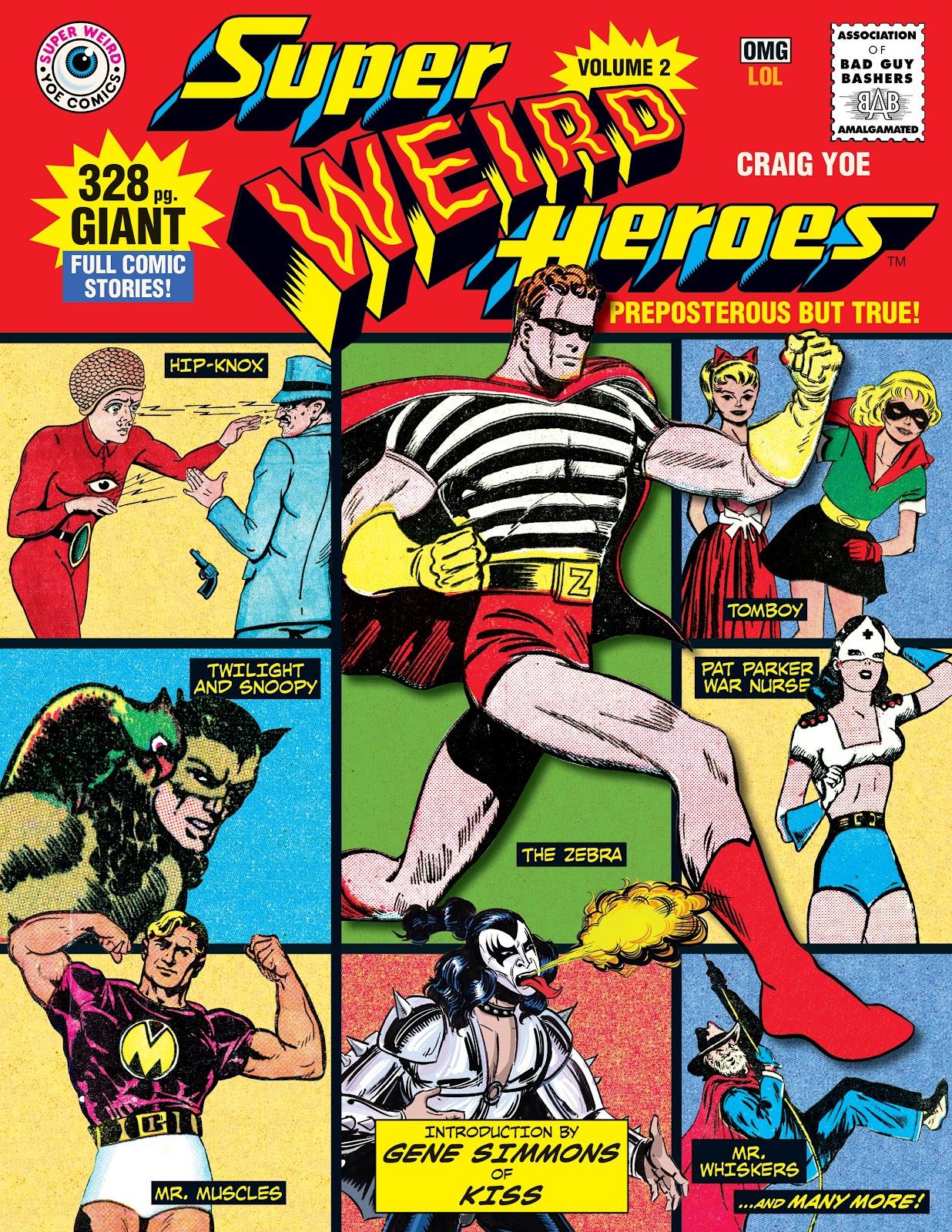 Read online Super Weird Heroes comic -  Issue # TPB 2 (Part 1) - 1