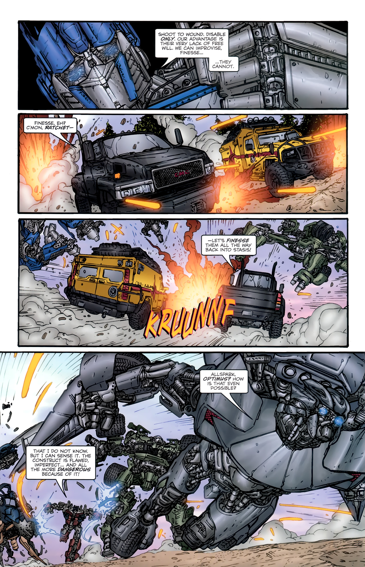 Read online Transformers: Nefarious comic -  Issue #6 - 6