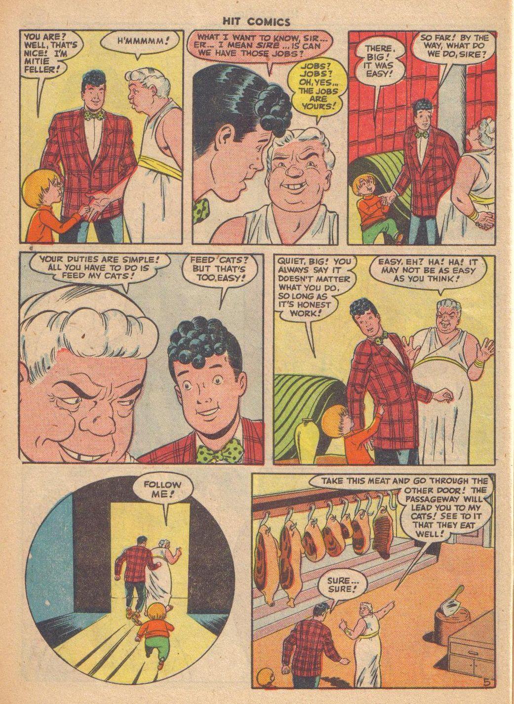 Read online Hit Comics comic -  Issue #46 - 54