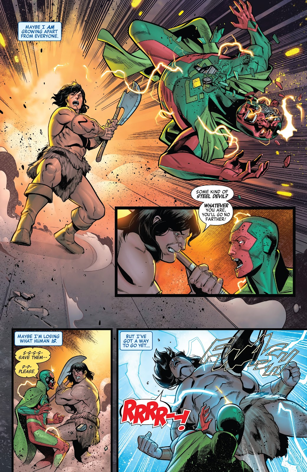 Read online Avengers No Road Home comic -  Issue #7 - 14