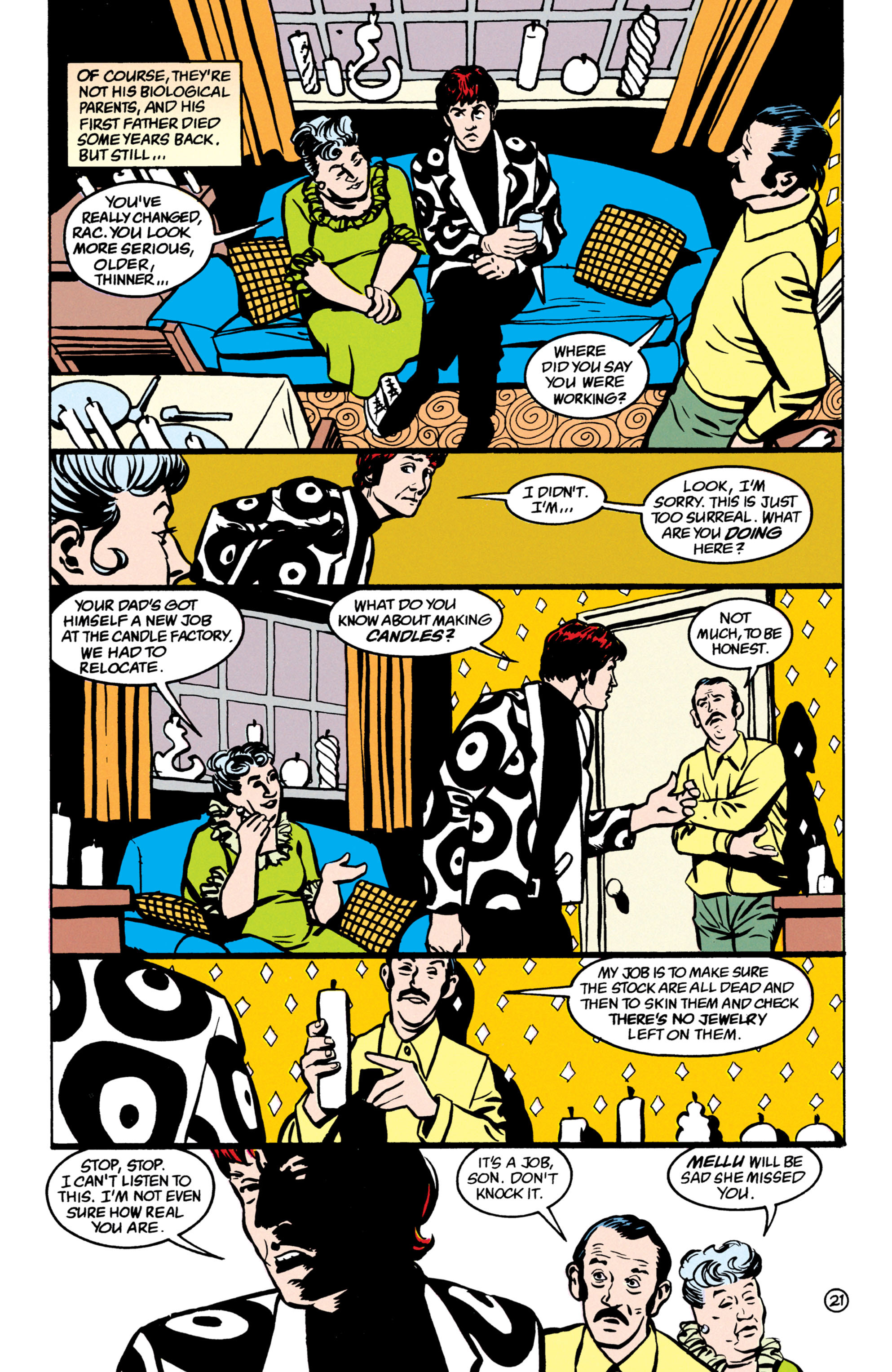 Read online Shade, the Changing Man comic -  Issue #52 - 22
