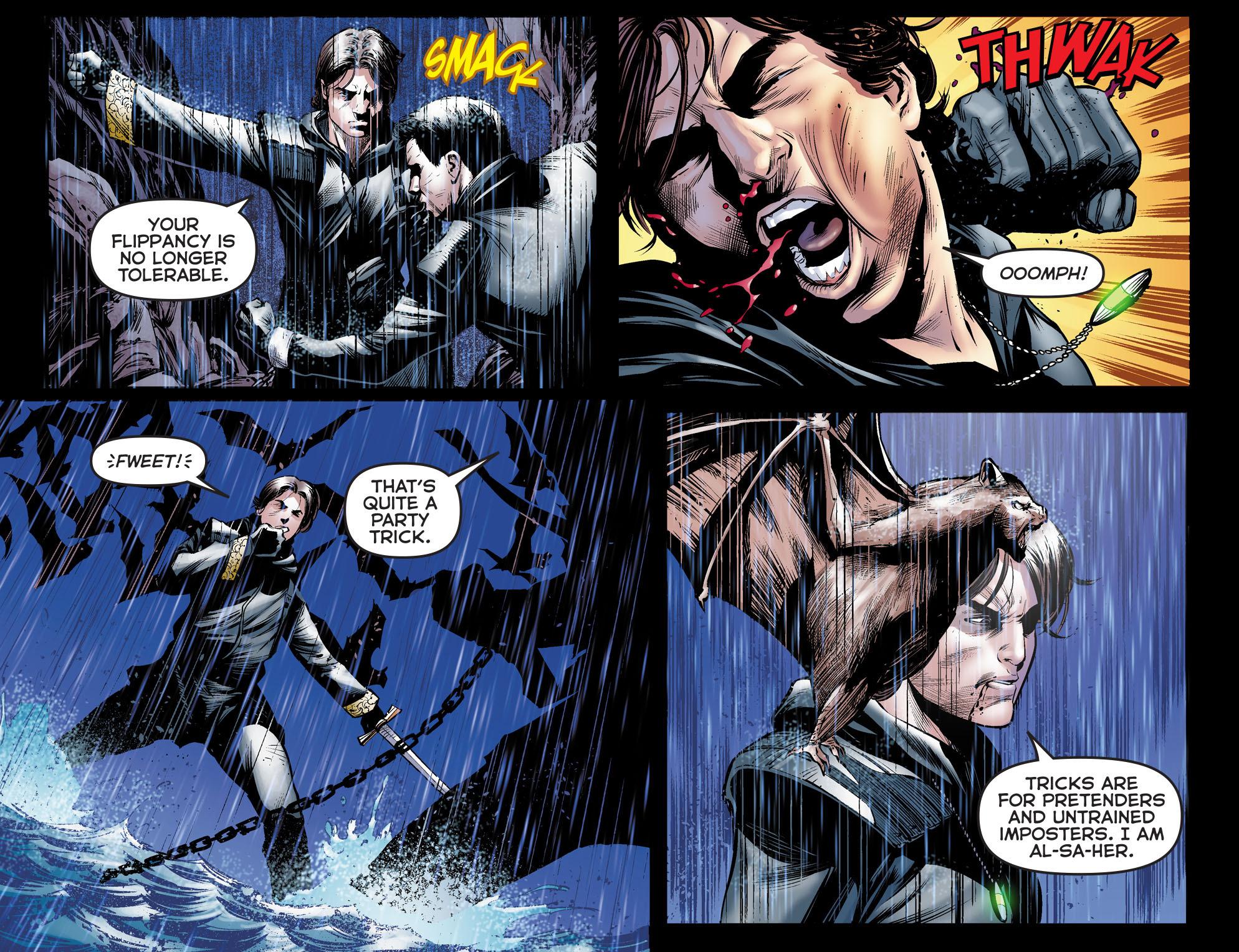 Read online Arrow: The Dark Archer comic -  Issue #5 - 4
