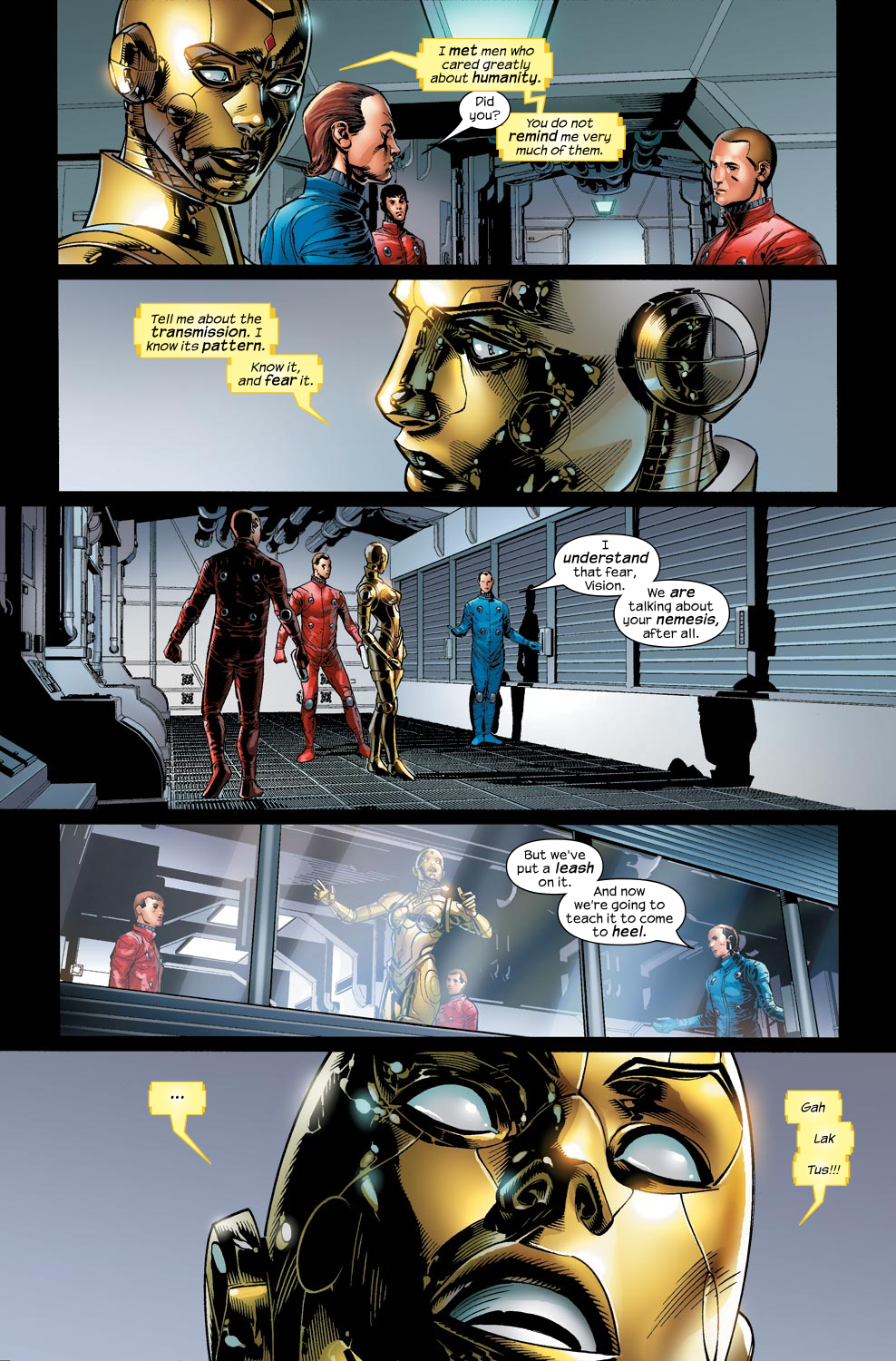 Read online Ultimate Vision comic -  Issue #1 - 14