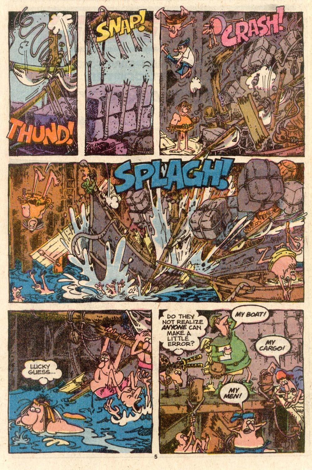Read online Sergio Aragonés Groo the Wanderer comic -  Issue #46 - 5