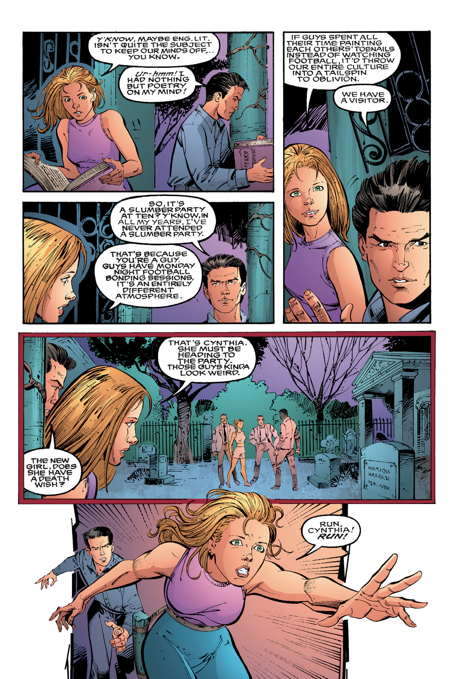Read online Buffy the Vampire Slayer: Omnibus comic -  Issue # TPB 3 - 139