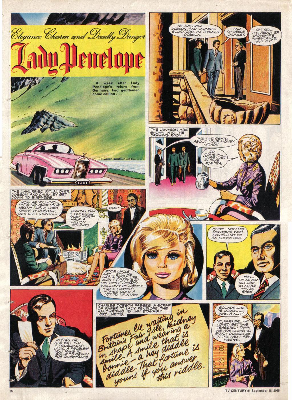 Read online TV Century 21 (TV 21) comic -  Issue #35 - 15