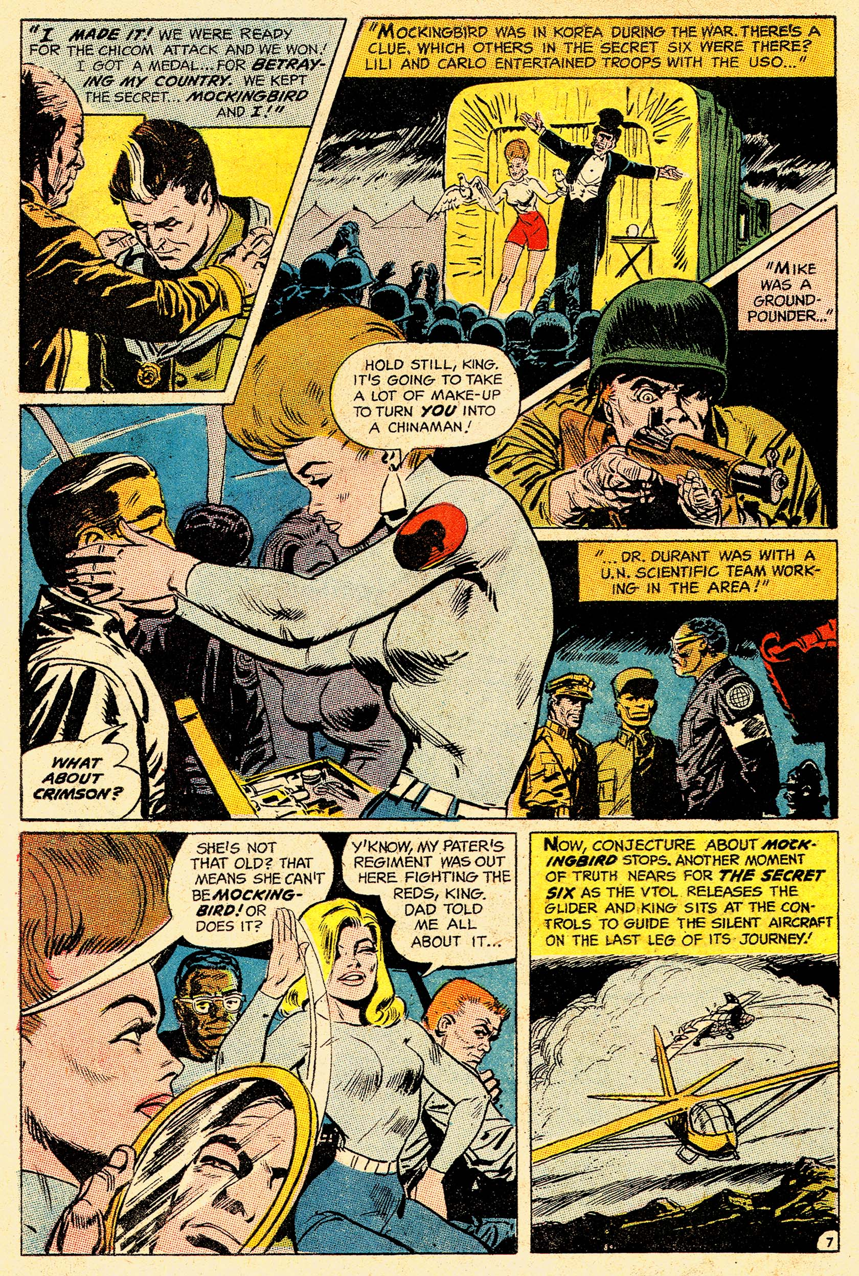 Read online Secret Six (1968) comic -  Issue #4 - 10
