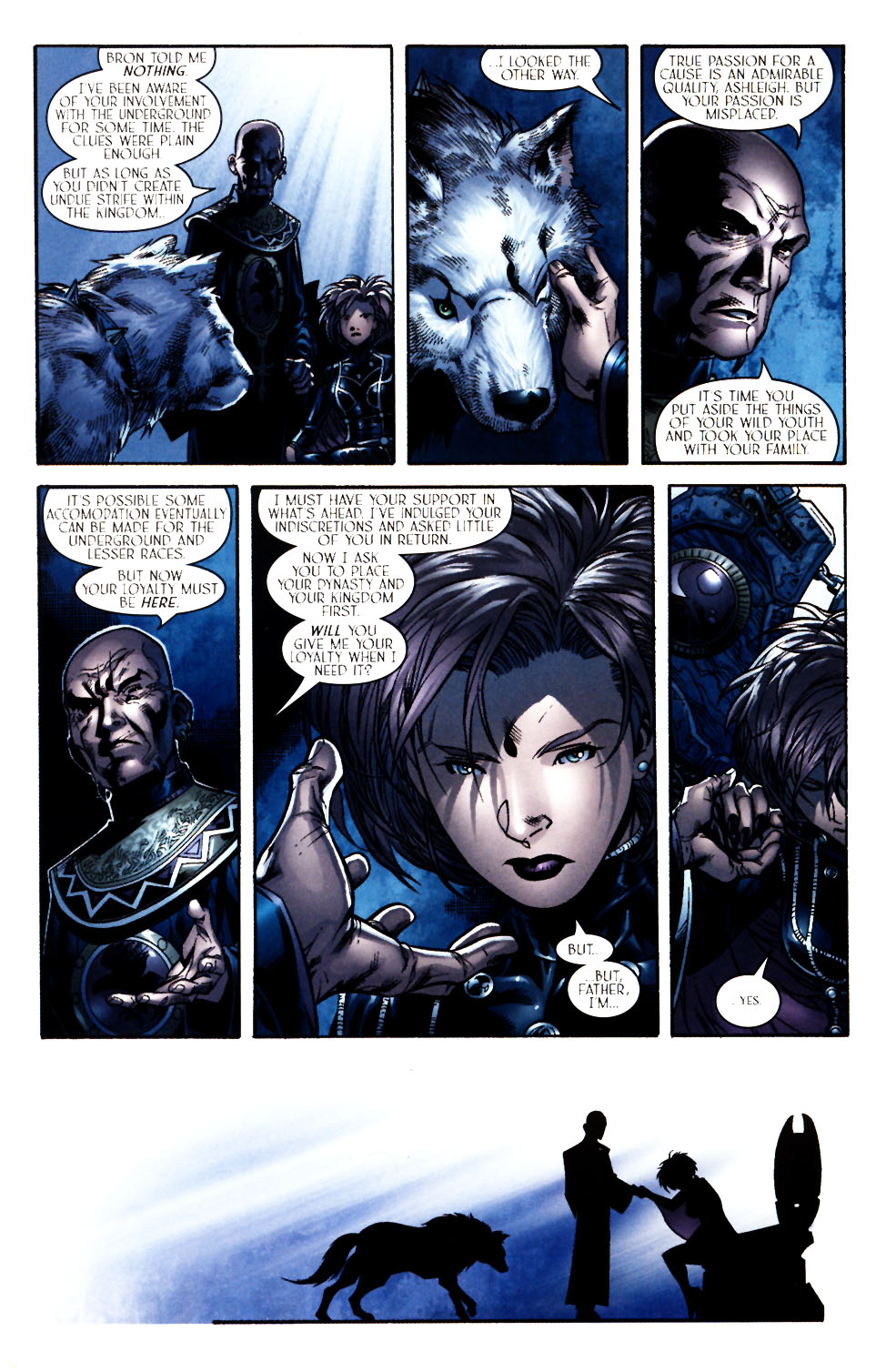 Read online Scion comic -  Issue #11 - 17