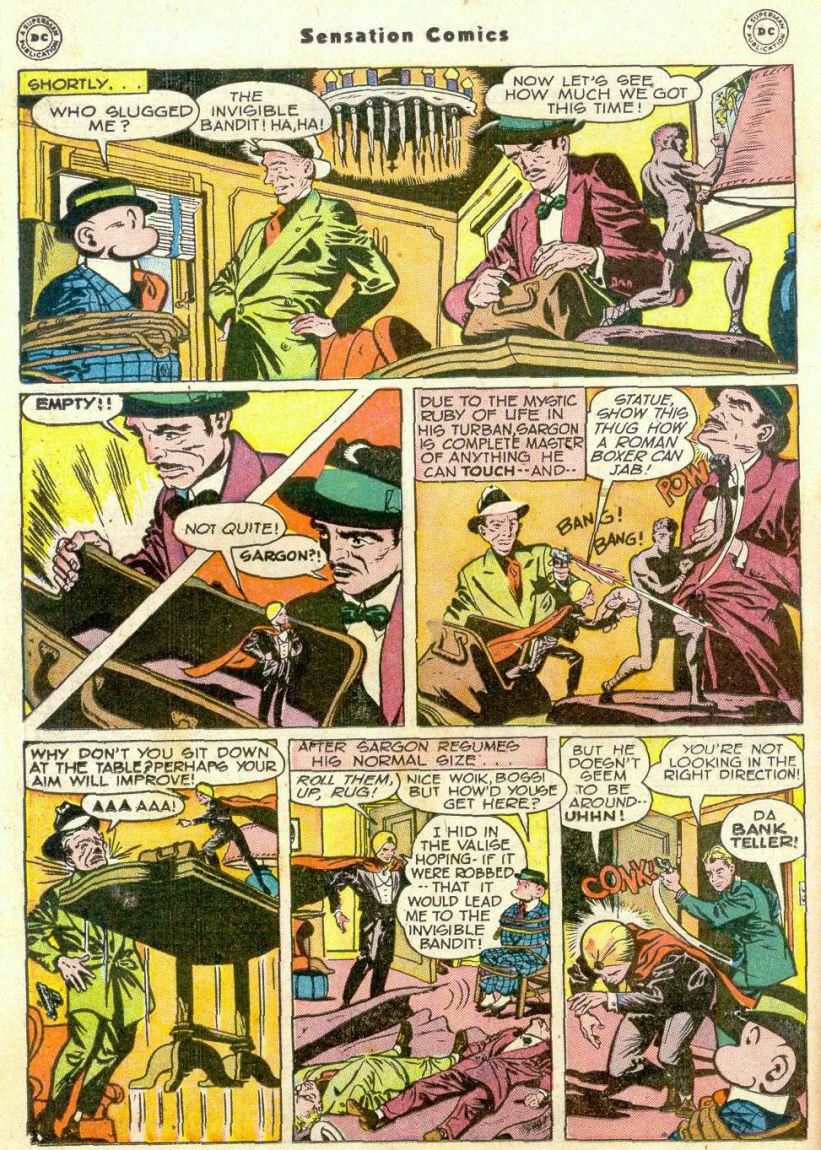 Read online Sensation (Mystery) Comics comic -  Issue #75 - 25