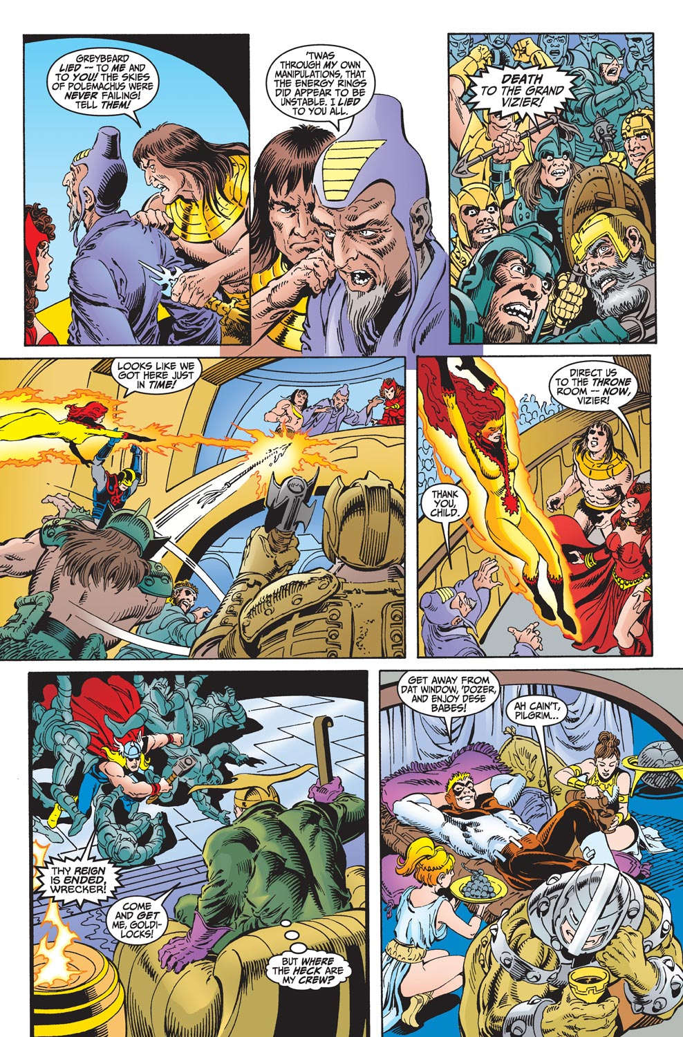 Read online Avengers (1998) comic -  Issue #18 - 15