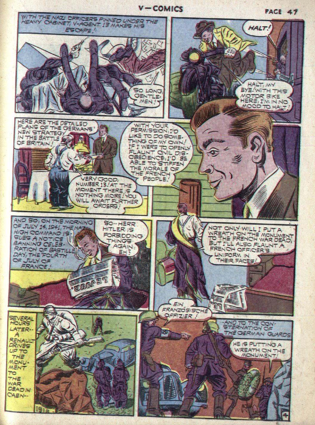 Read online V...- Comics comic -  Issue #1 - 48