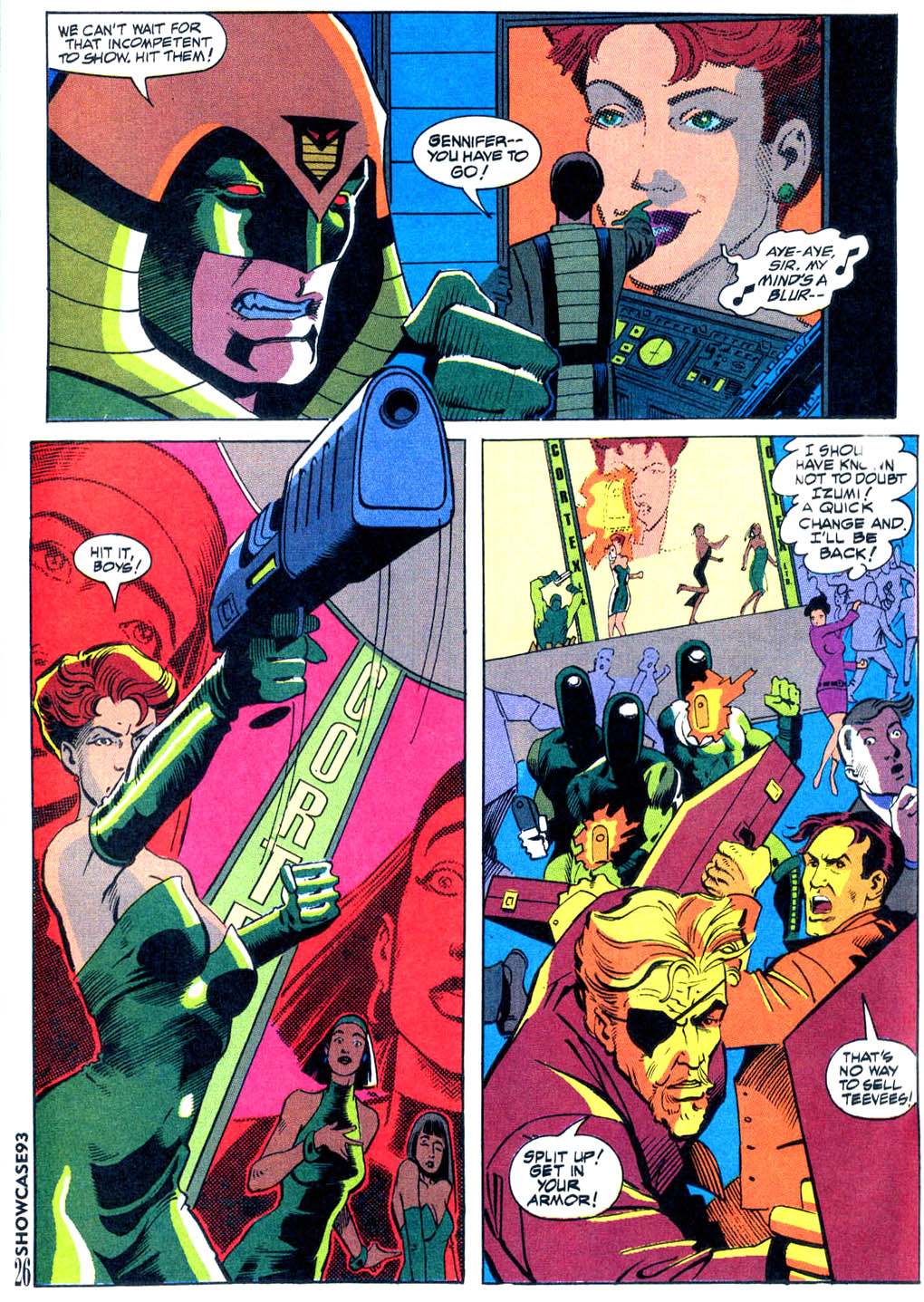 Read online Showcase '93 comic -  Issue #9 - 22