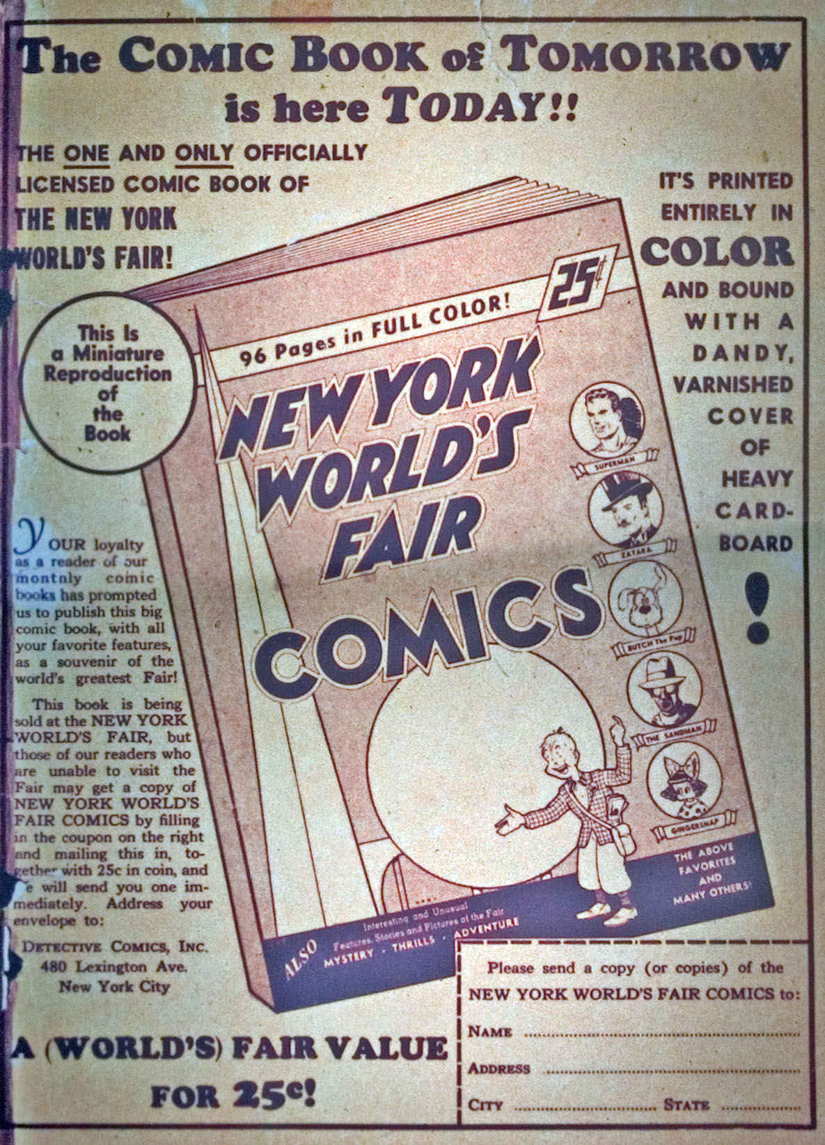 Read online Detective Comics (1937) comic -  Issue #31 - 67