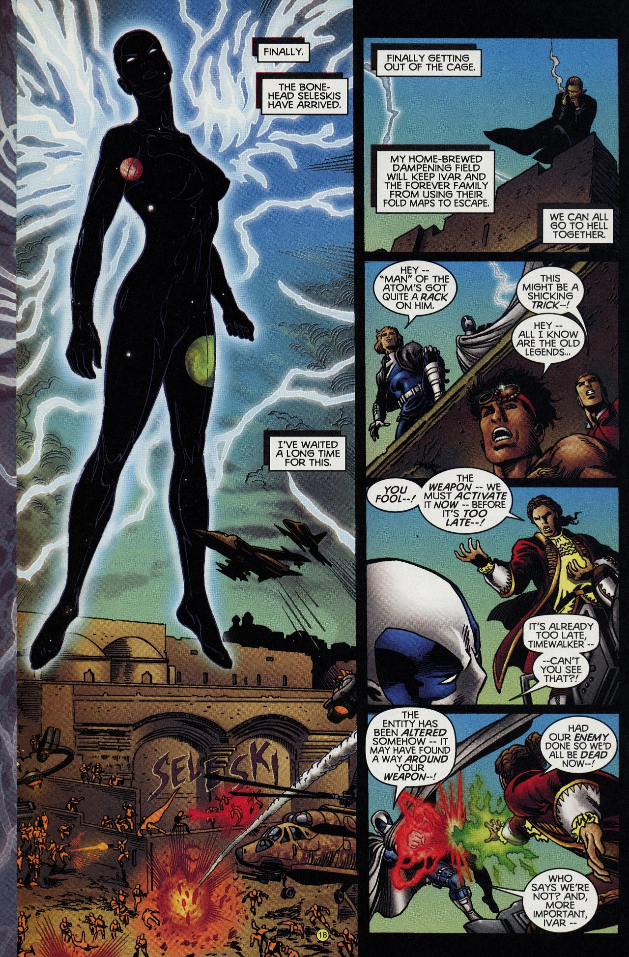 Read online Solar, Man of the Atom: Hell on Earth comic -  Issue #4 - 18