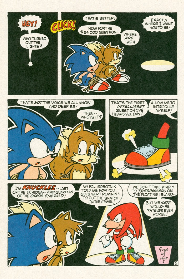 Read online Sonic Super Special comic -  Issue #3 - Sonic Firsts - 41