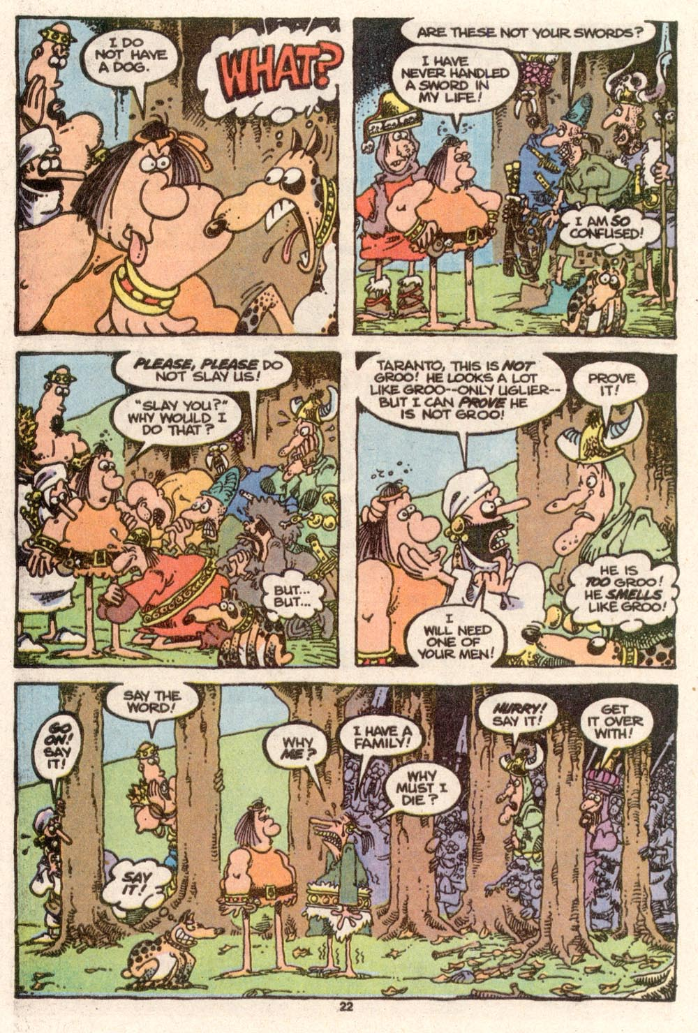 Read online Sergio Aragonés Groo the Wanderer comic -  Issue #73 - 16