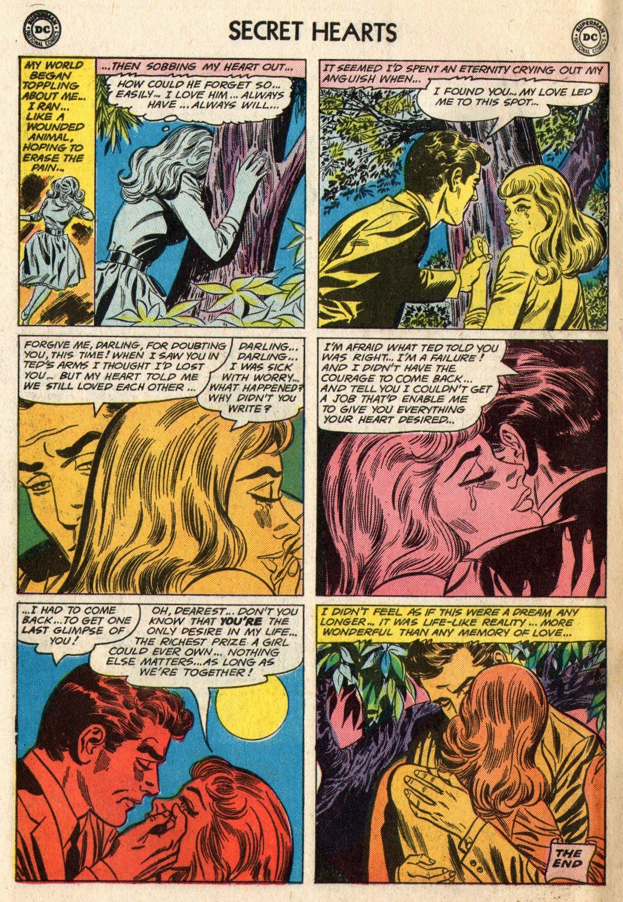 Read online Secret Hearts comic -  Issue #95 - 34
