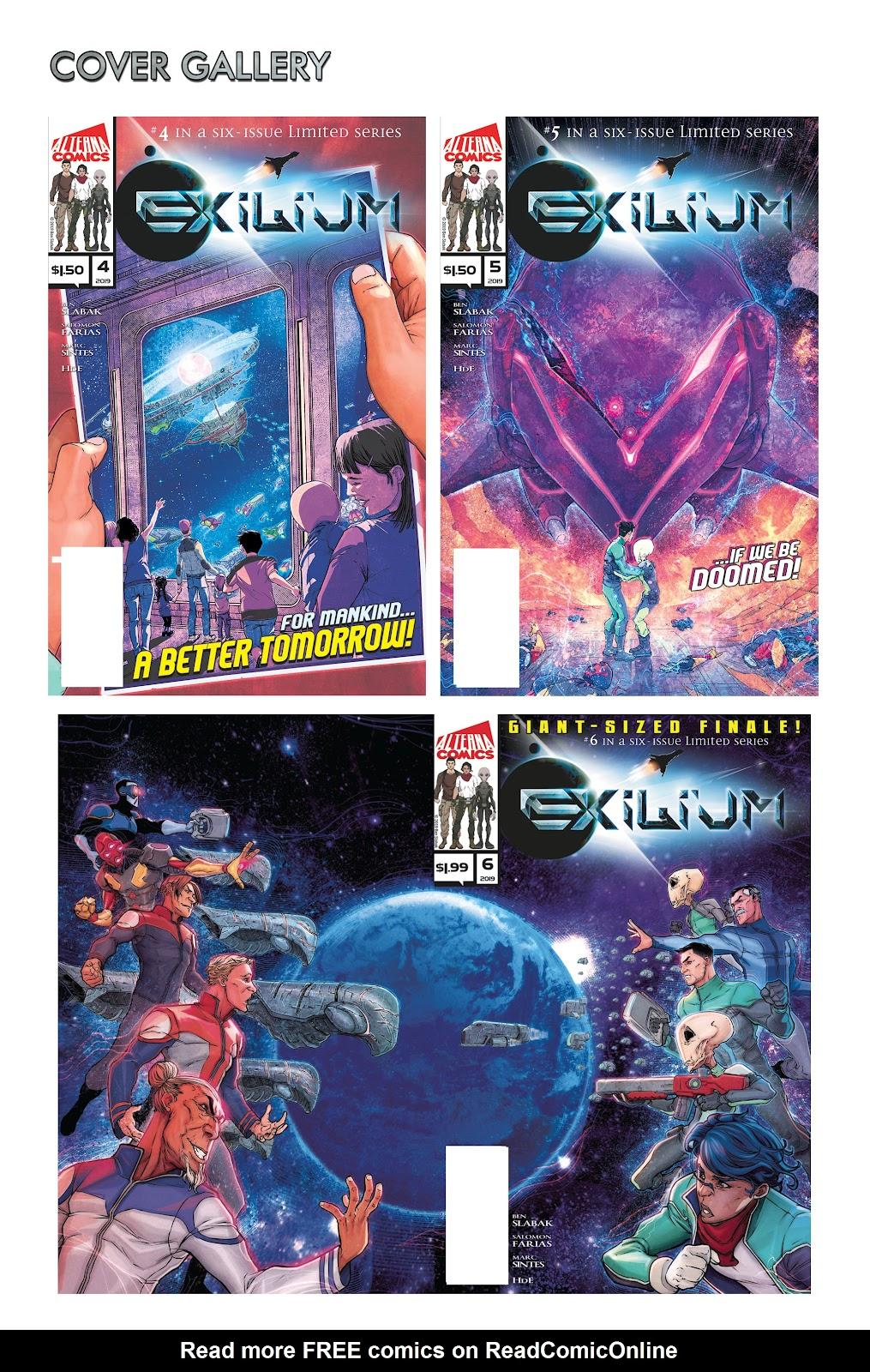 Exilium issue 6 - Page 55