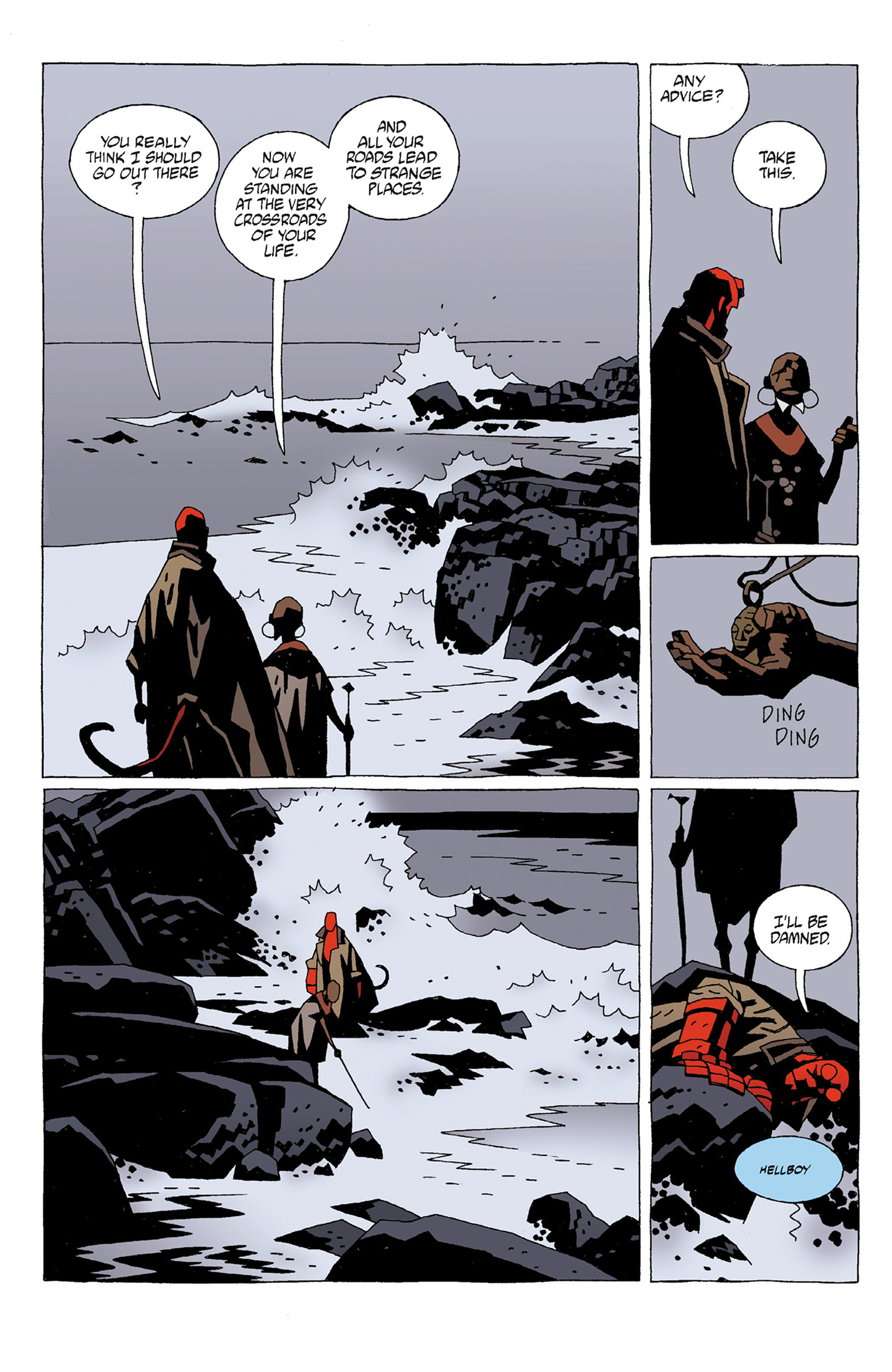 Read online Hellboy: Strange Places comic -  Issue # TPB - 18
