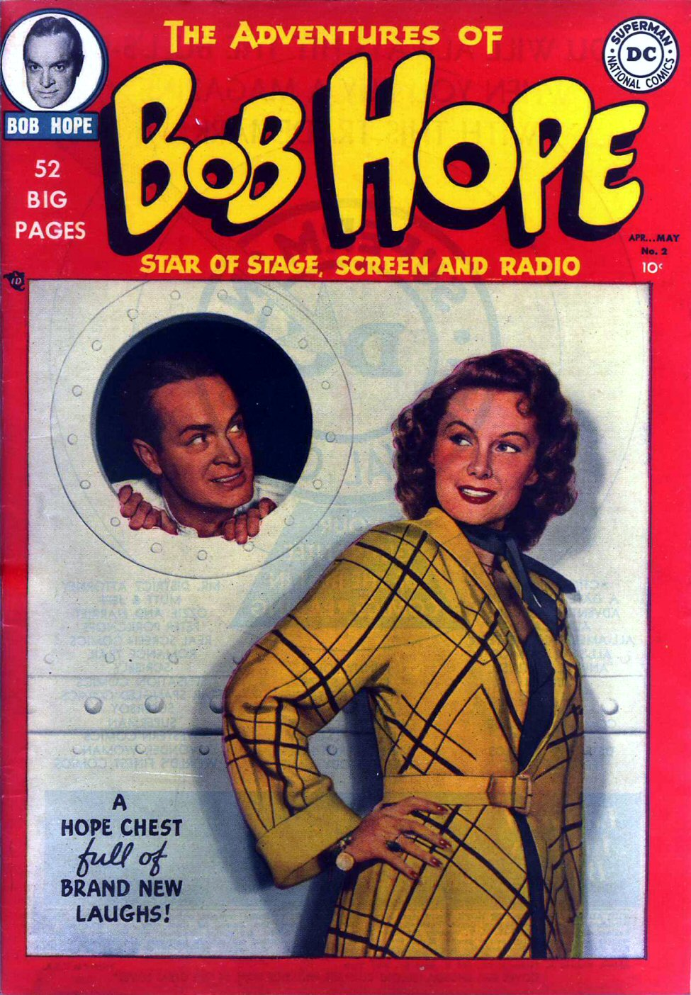The Adventures of Bob Hope issue 2 - Page 1