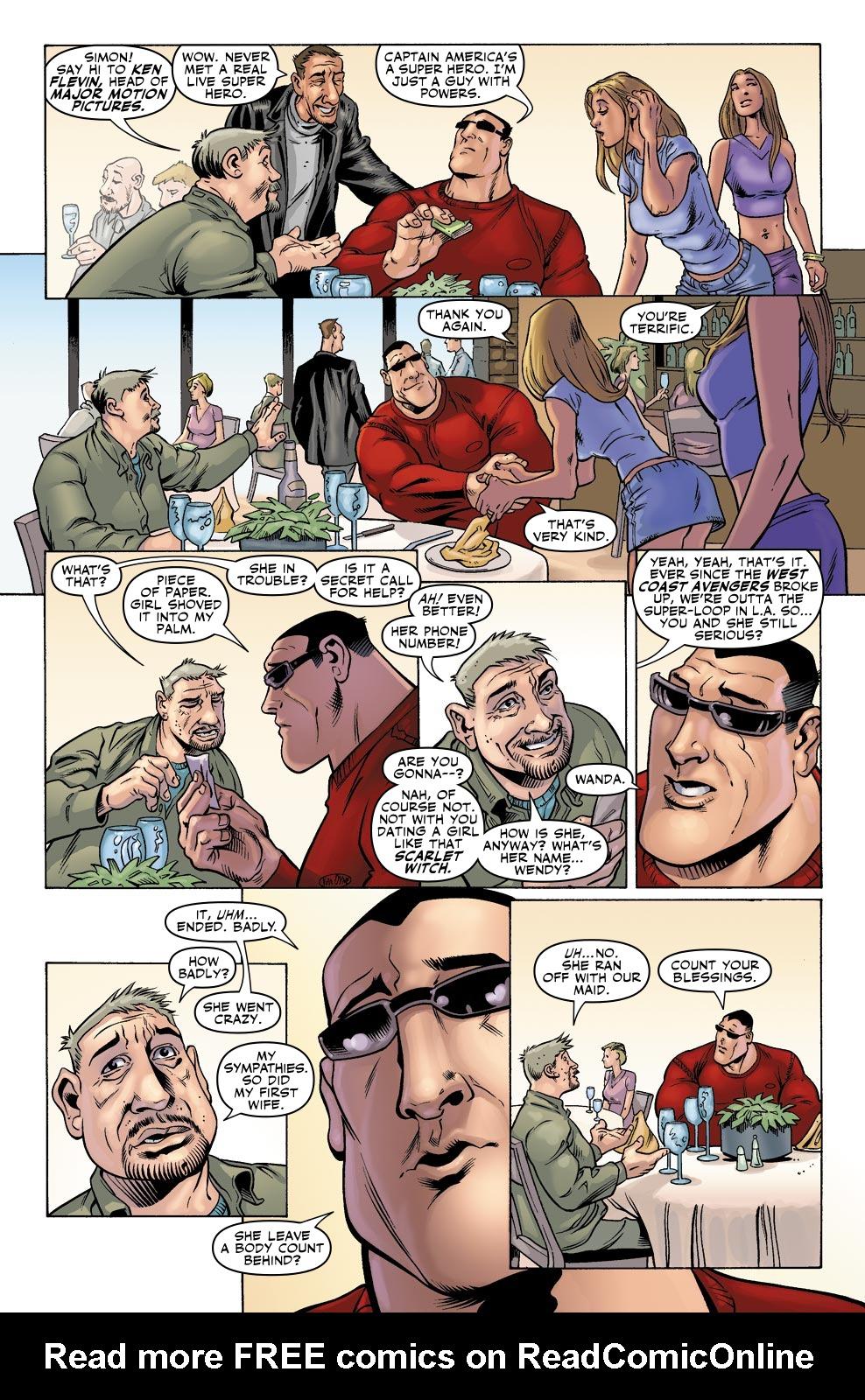 Read online Wonder Man (2007) comic -  Issue #1 - 7