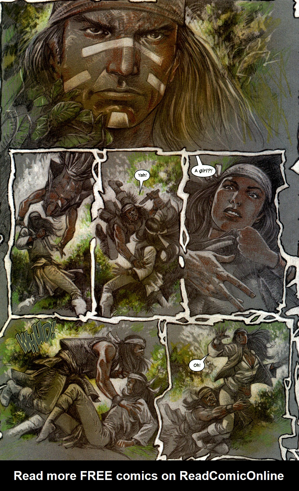 Read online Apache Skies comic -  Issue #2 - 16