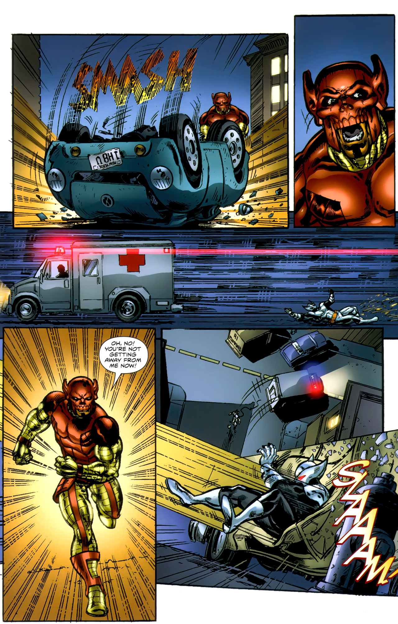 Read online ShadowHawk (2010) comic -  Issue #1 - 16